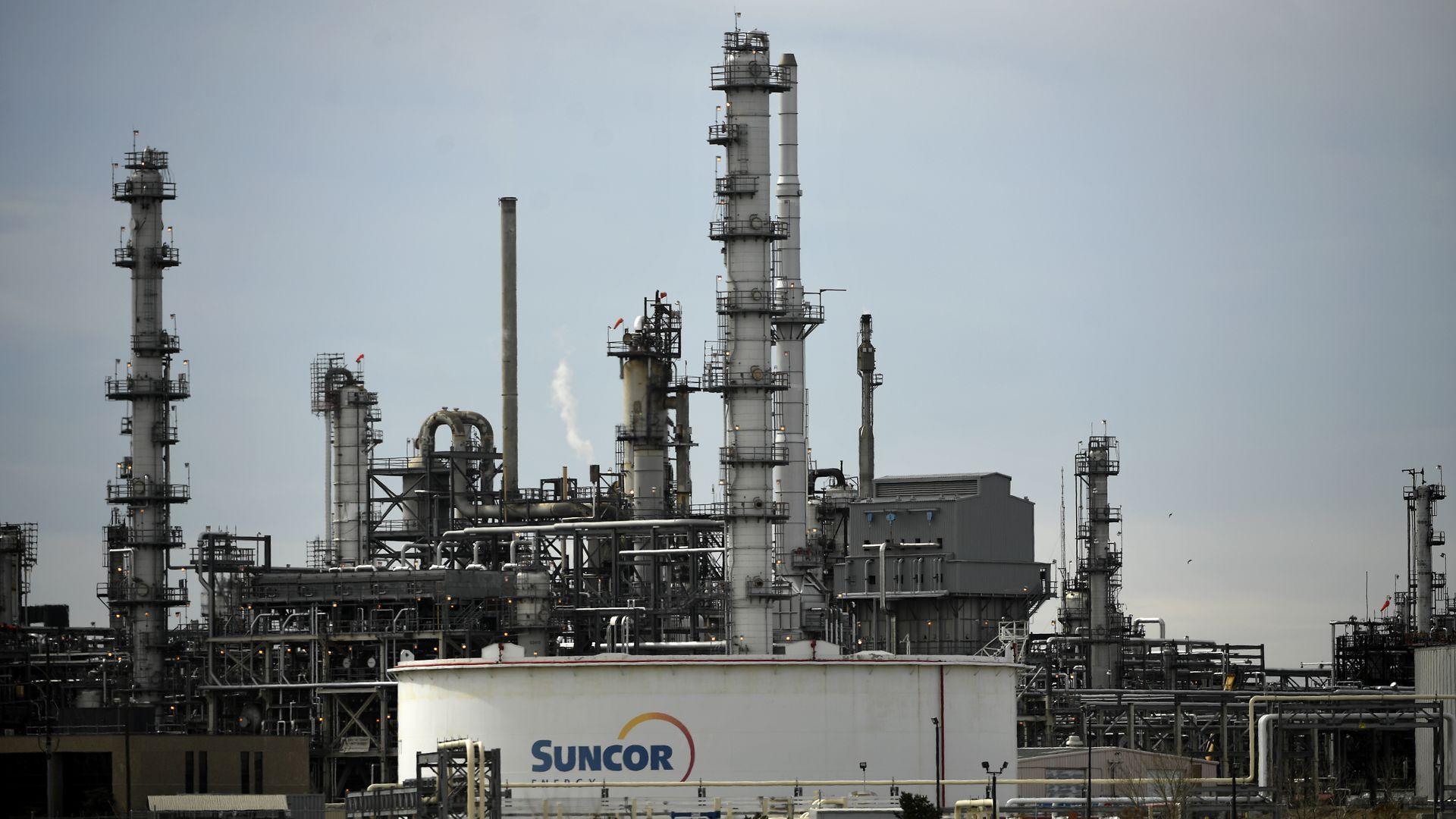 Suncor Refinery in Commerce City