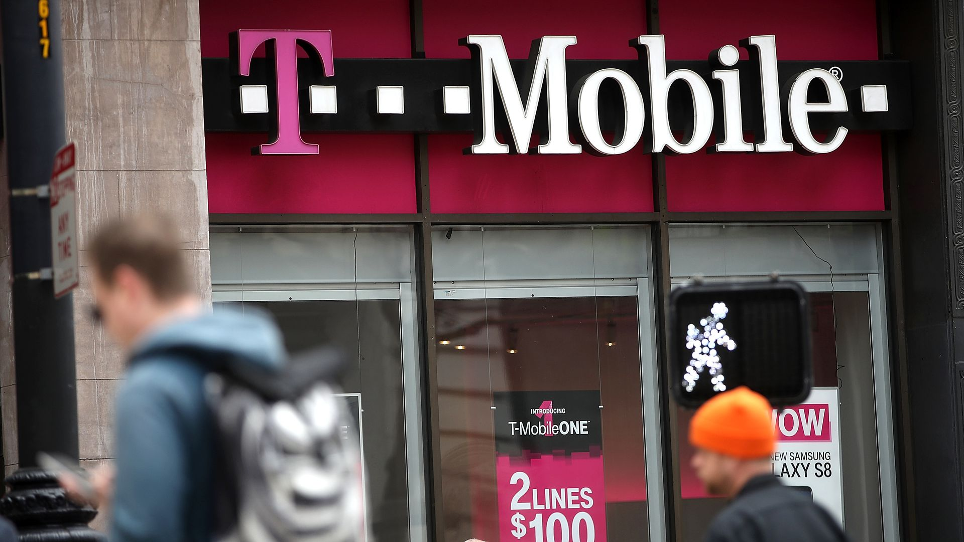 A San Francisco T-Mobile Store