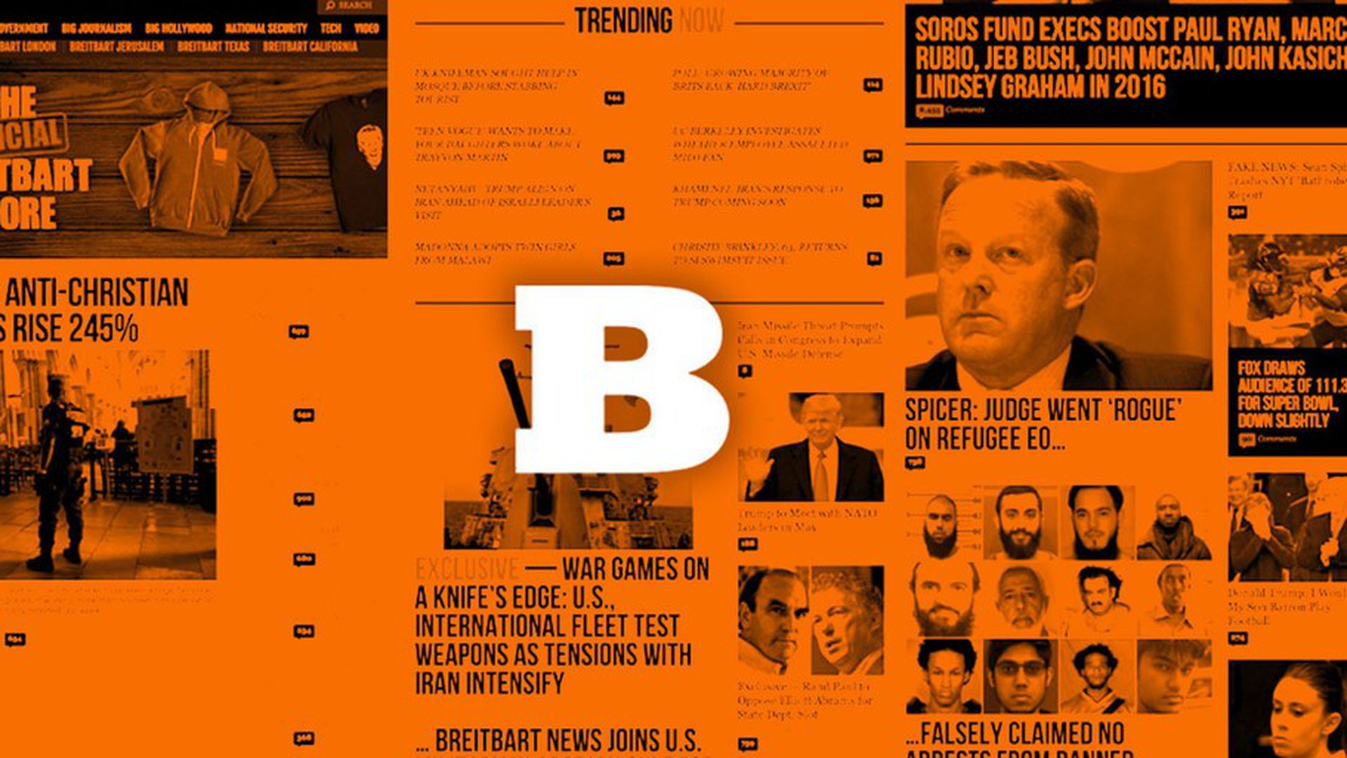 Breitbart's online stats outpacing mainstream rivals