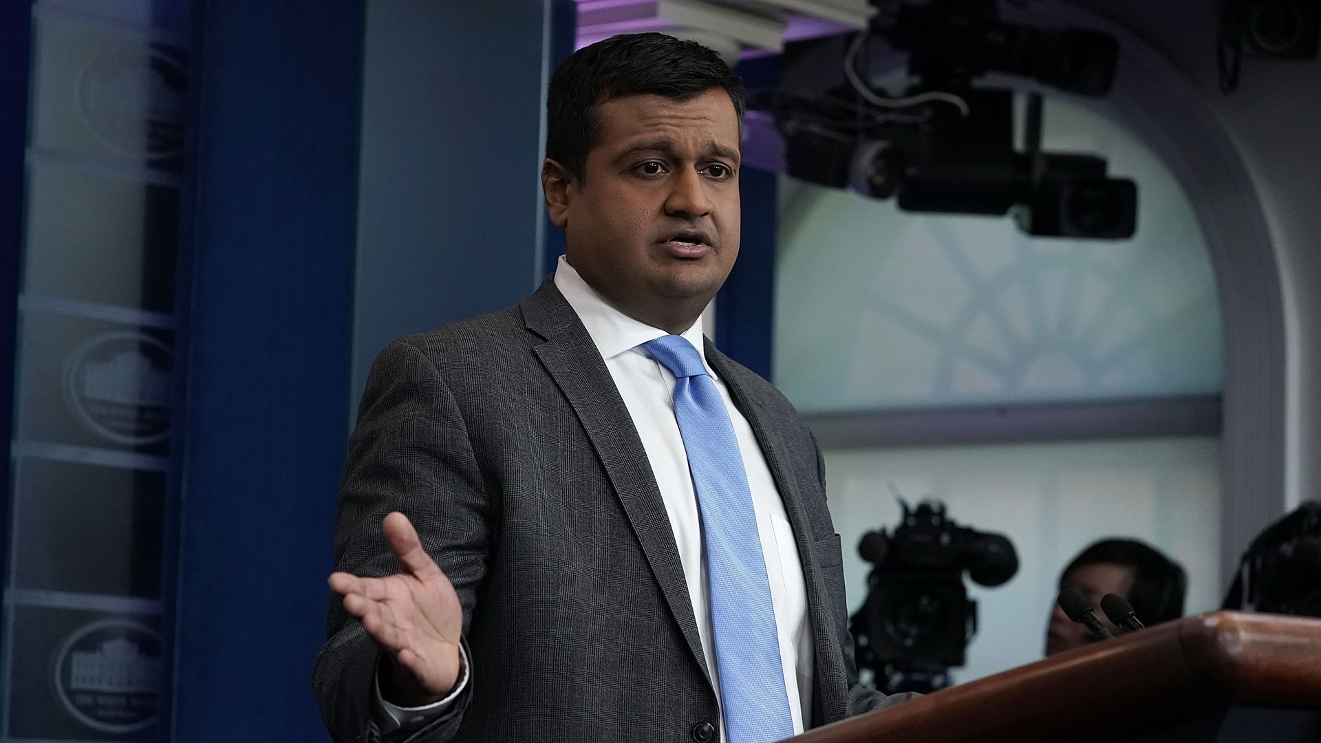 White House deputy press secretary Raj Shah.