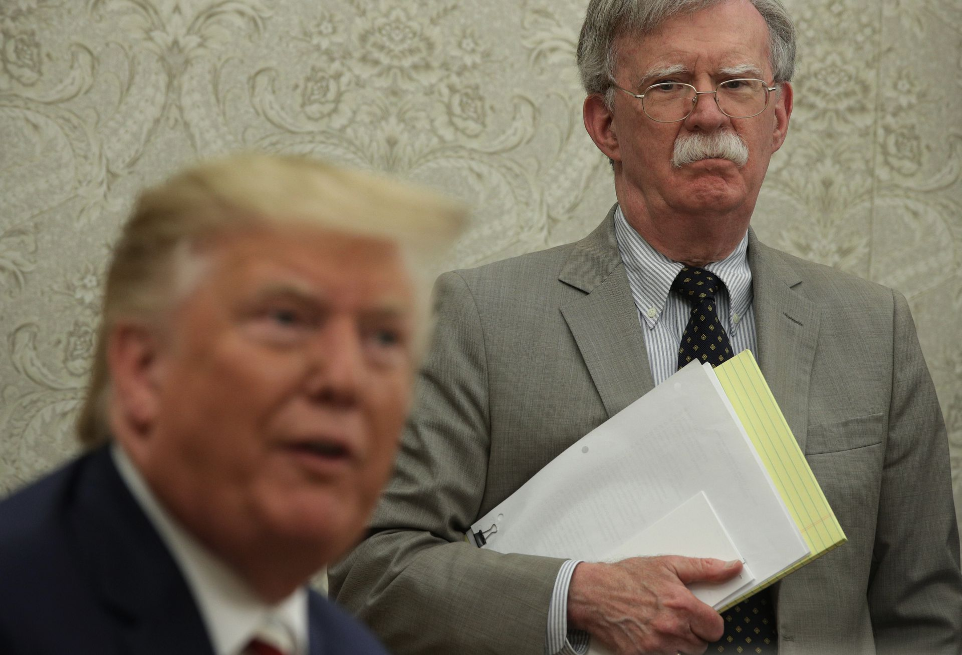 """Trump claims John Bolton will have """"very strong criminal problem"""" if he publishes book thumbnail"""