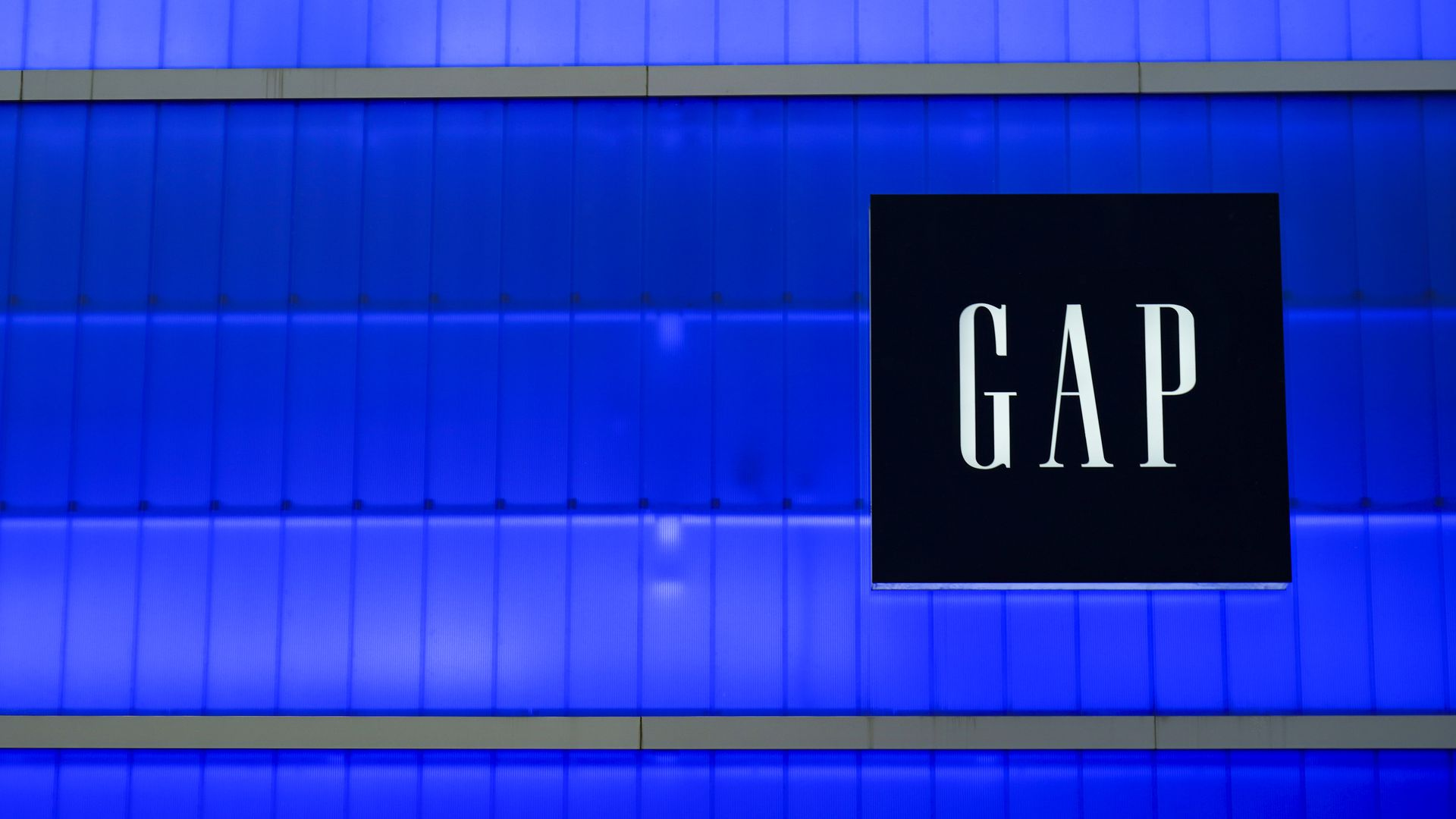 The GAP logo.
