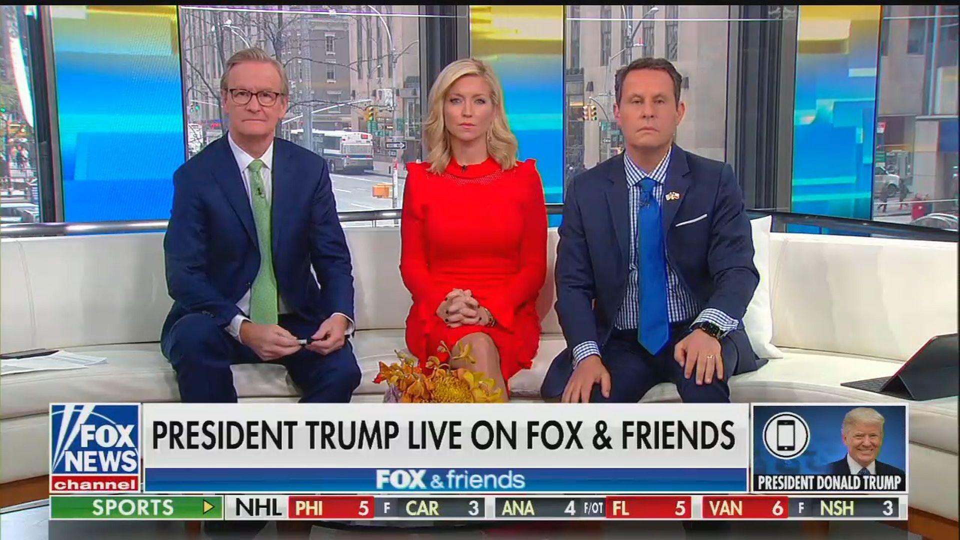 "Trump repeats Ukraine conspiracy theory on 53-minute ""Fox & Friends"" call"