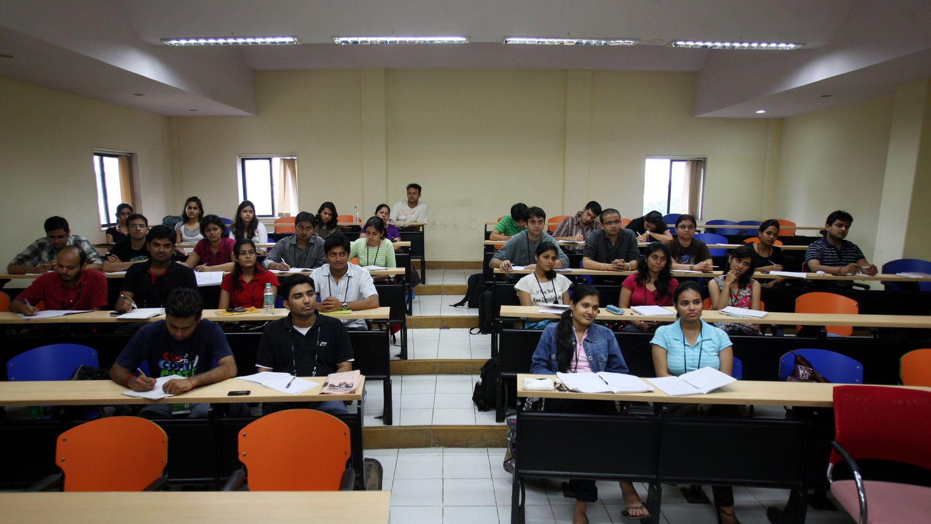 College students in Mumbai
