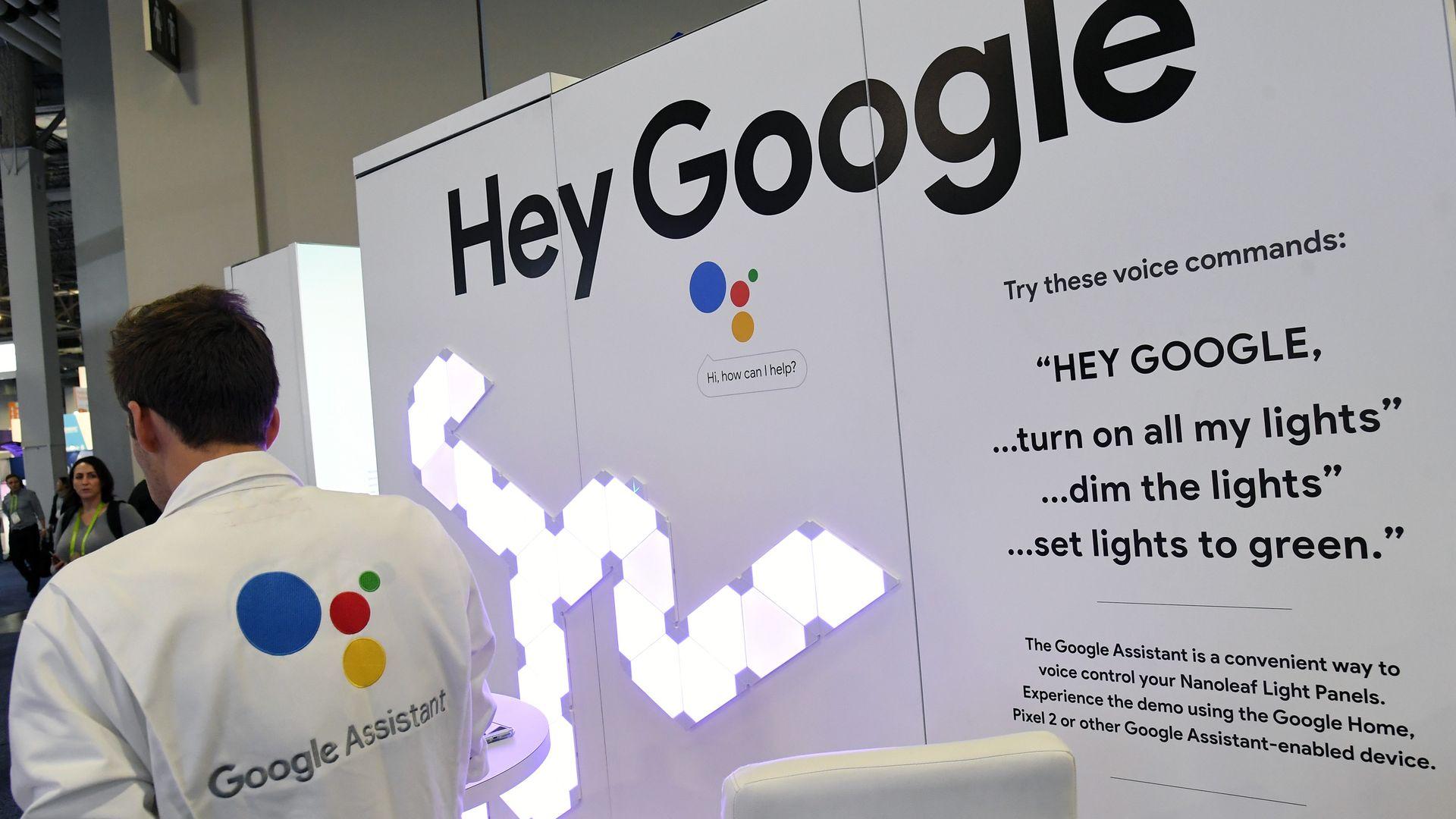 Google Assistant - Axios