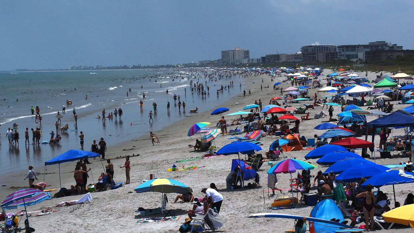 Florida smashes single-day record for new coronavirus cases