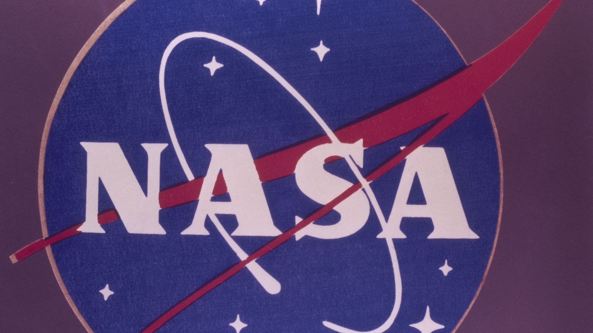 NASA's logo.