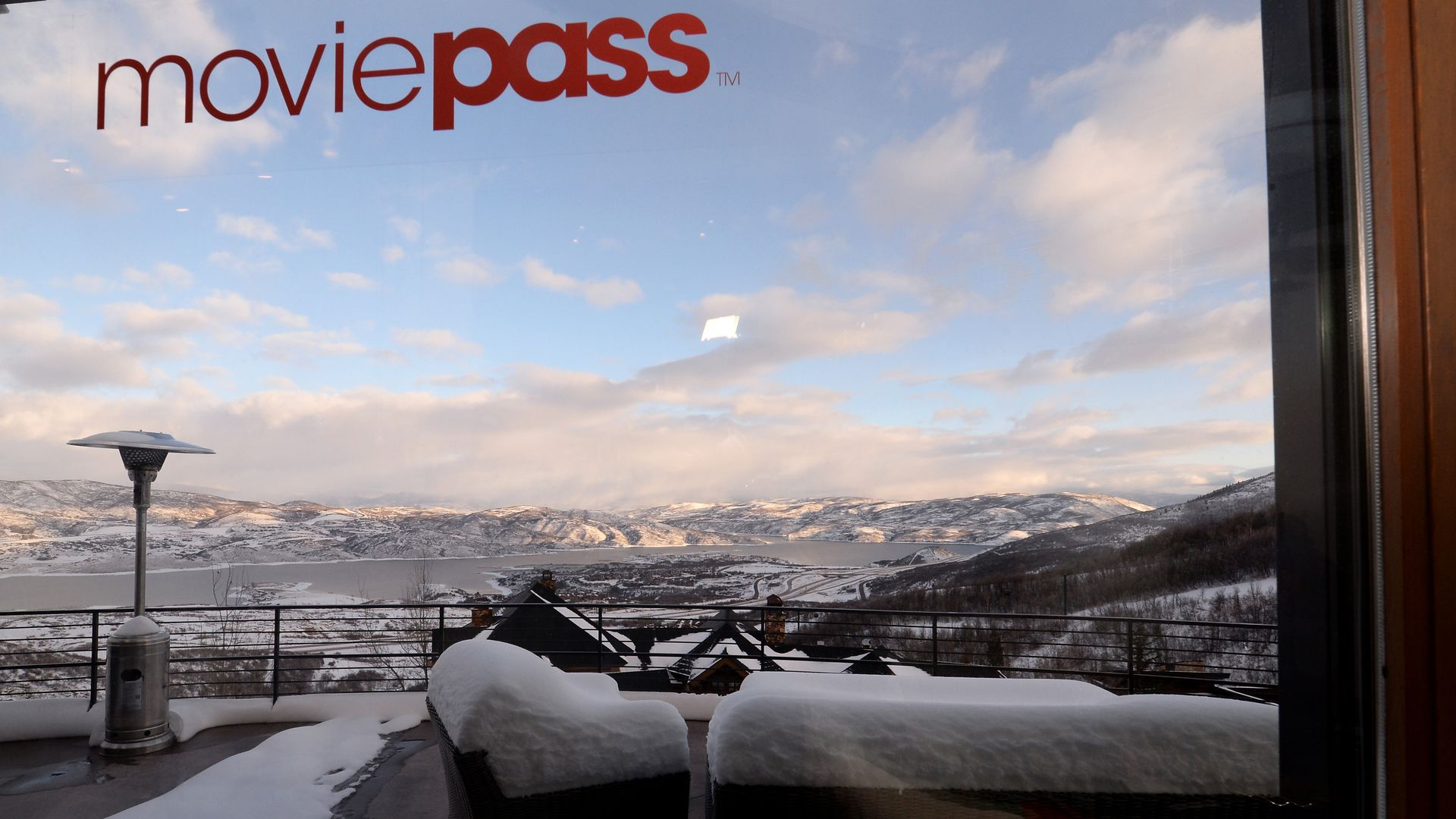 Signage at the MoviePass House Park City.