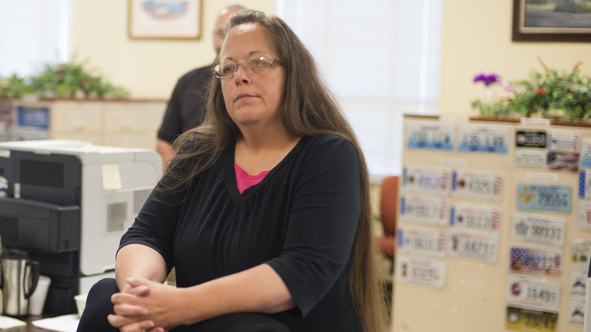 Kim Davis, Rowan County Clerk of Courts. Photo: Ty Wright/Getty Images