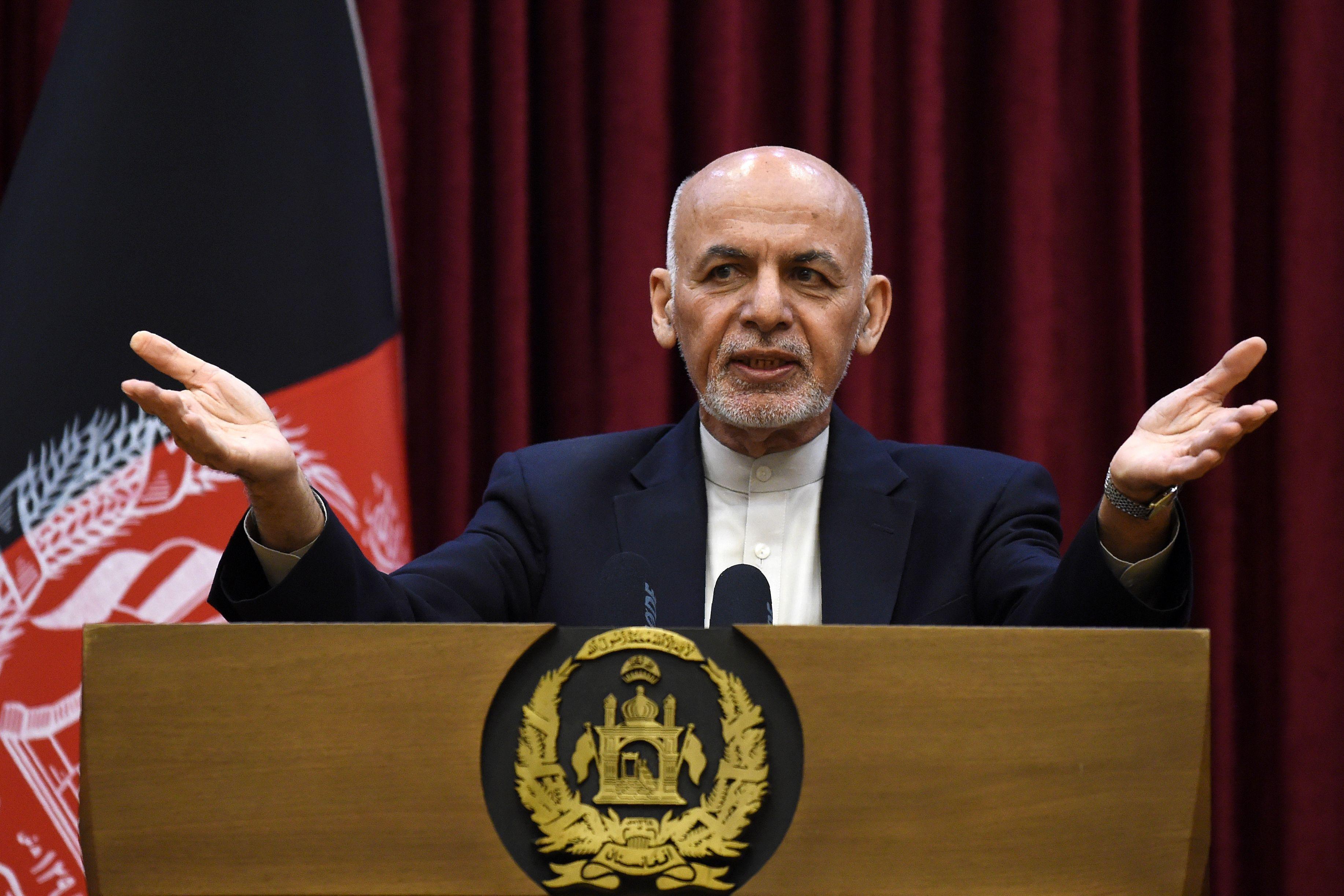 Afghanistan president rejects Taliban prisoner swap in blow to U.S. deal