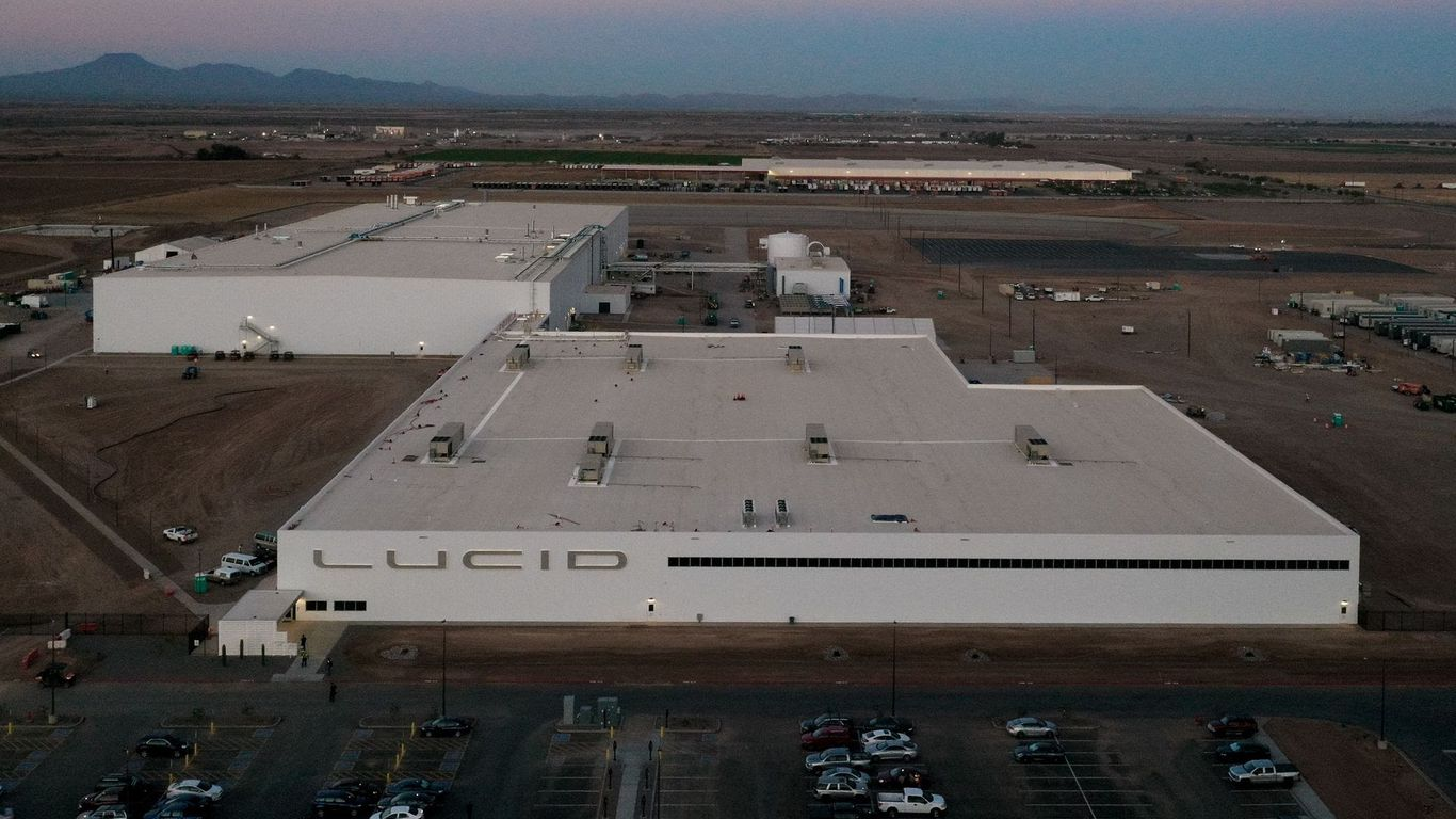 Lucid Motors' methodical manufacturing plan