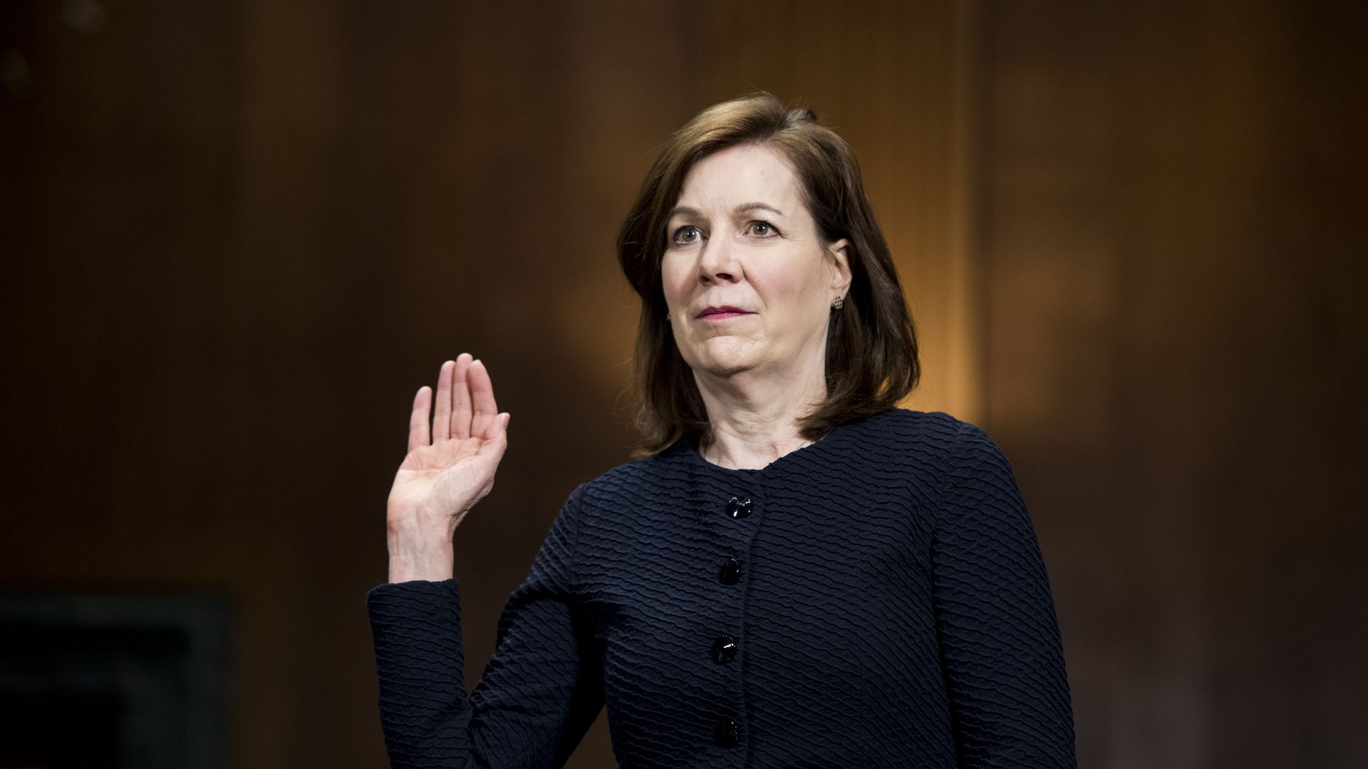 Democrats react to the confirmation of President Trump's judicial nominee Wendy Vitter