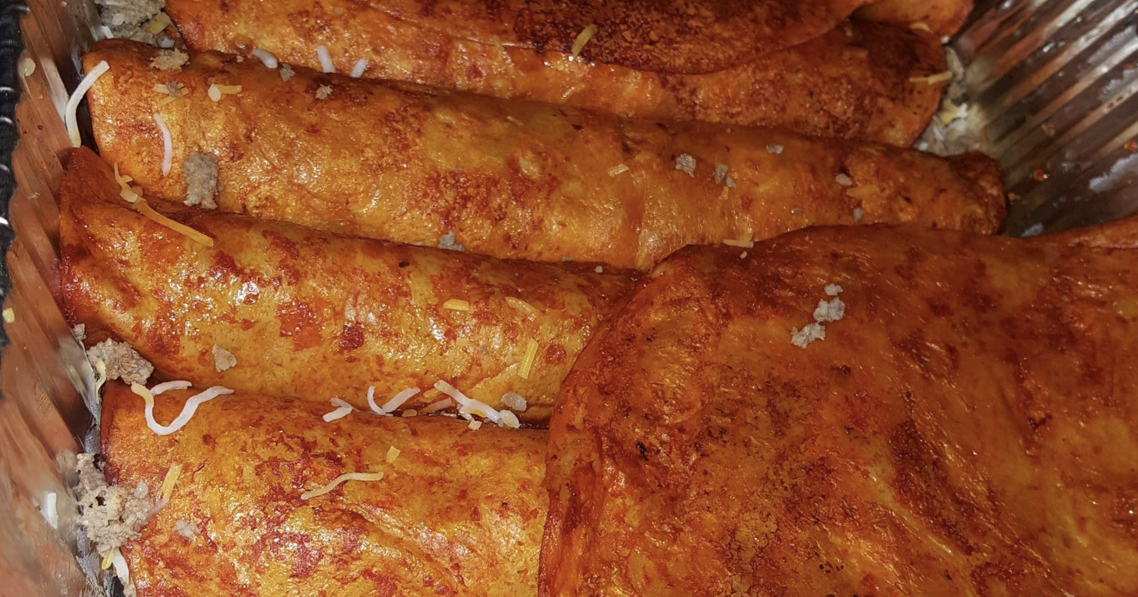Enchiladas from Hot Tamale Catering in Des Moines