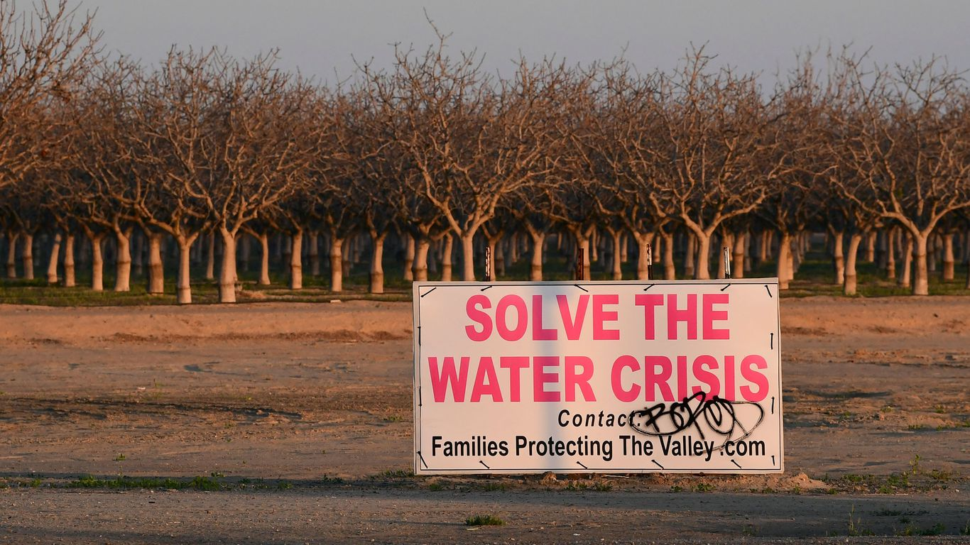 California governor declares drought emergency in most counties