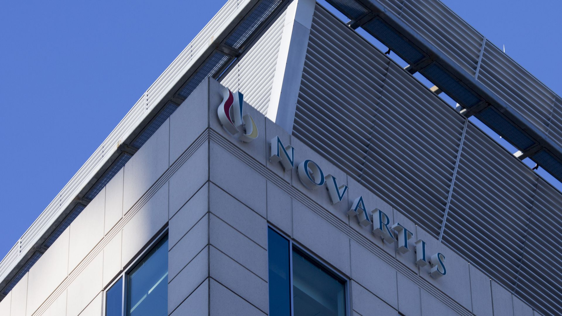 A Novartis building in Massachusetts.