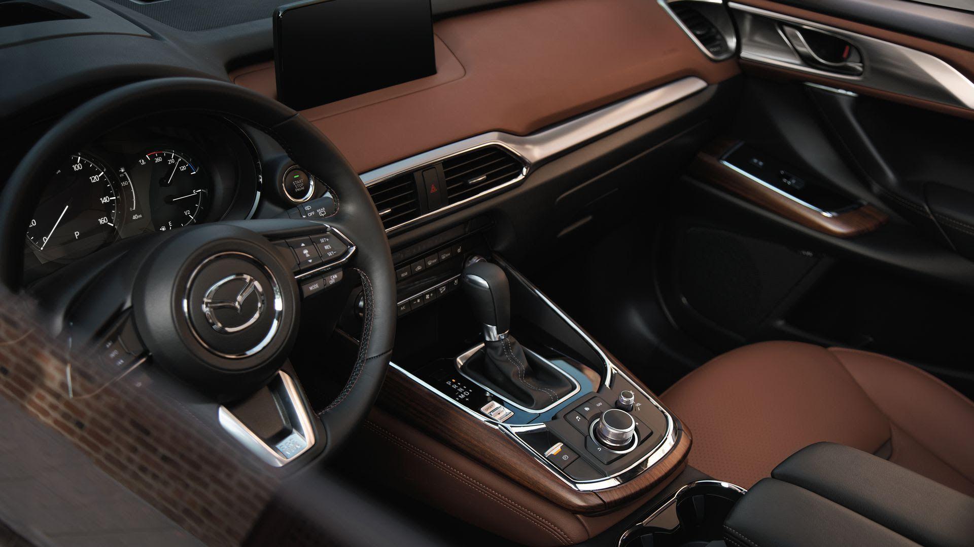 Mazda CX-9 Signature. Photo courtesy of Mazda