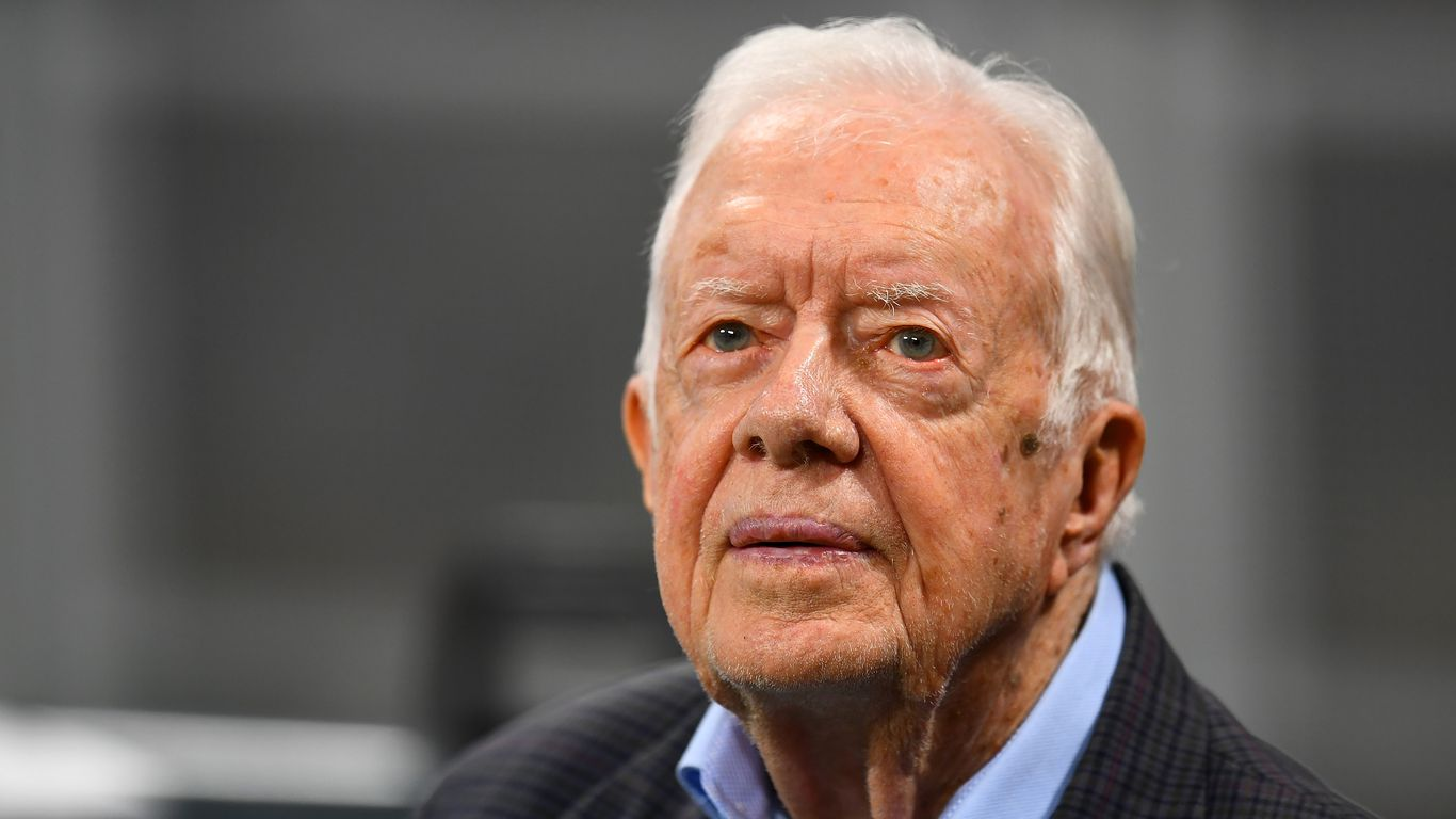 """Jimmy Carter """"disheartened, saddened, and angry"""" by Georgia bill restricting voting access"""