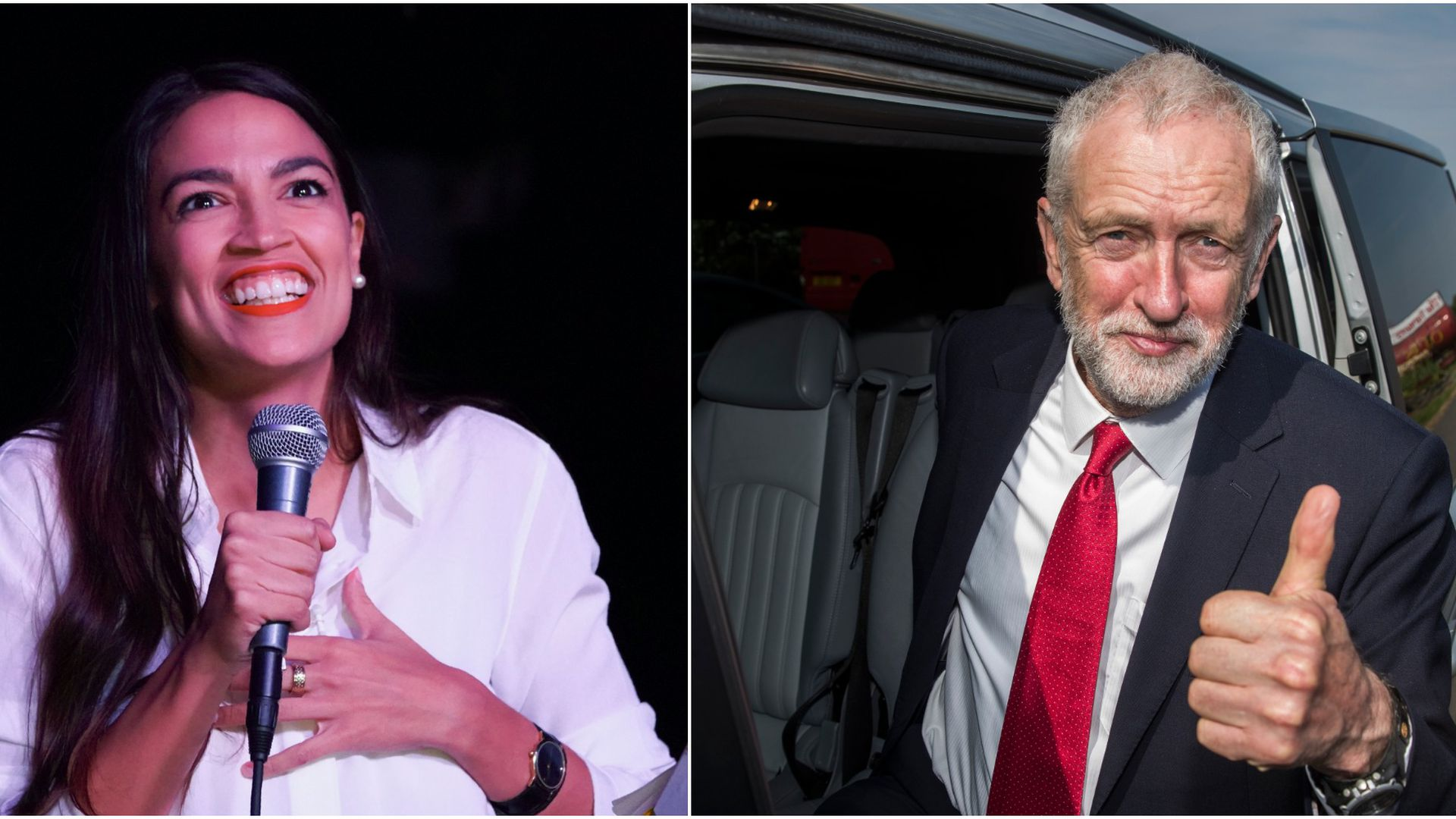 """Socialism is storming back"": The Economist compares Alexandria Ocasio-Cortez to Jeremy Corbyn"