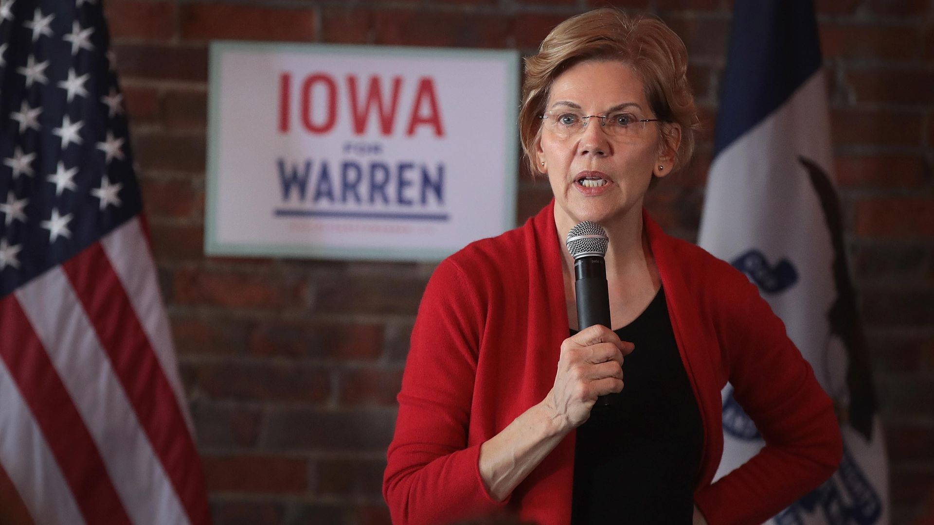 Elizabeth Warren in Iowa