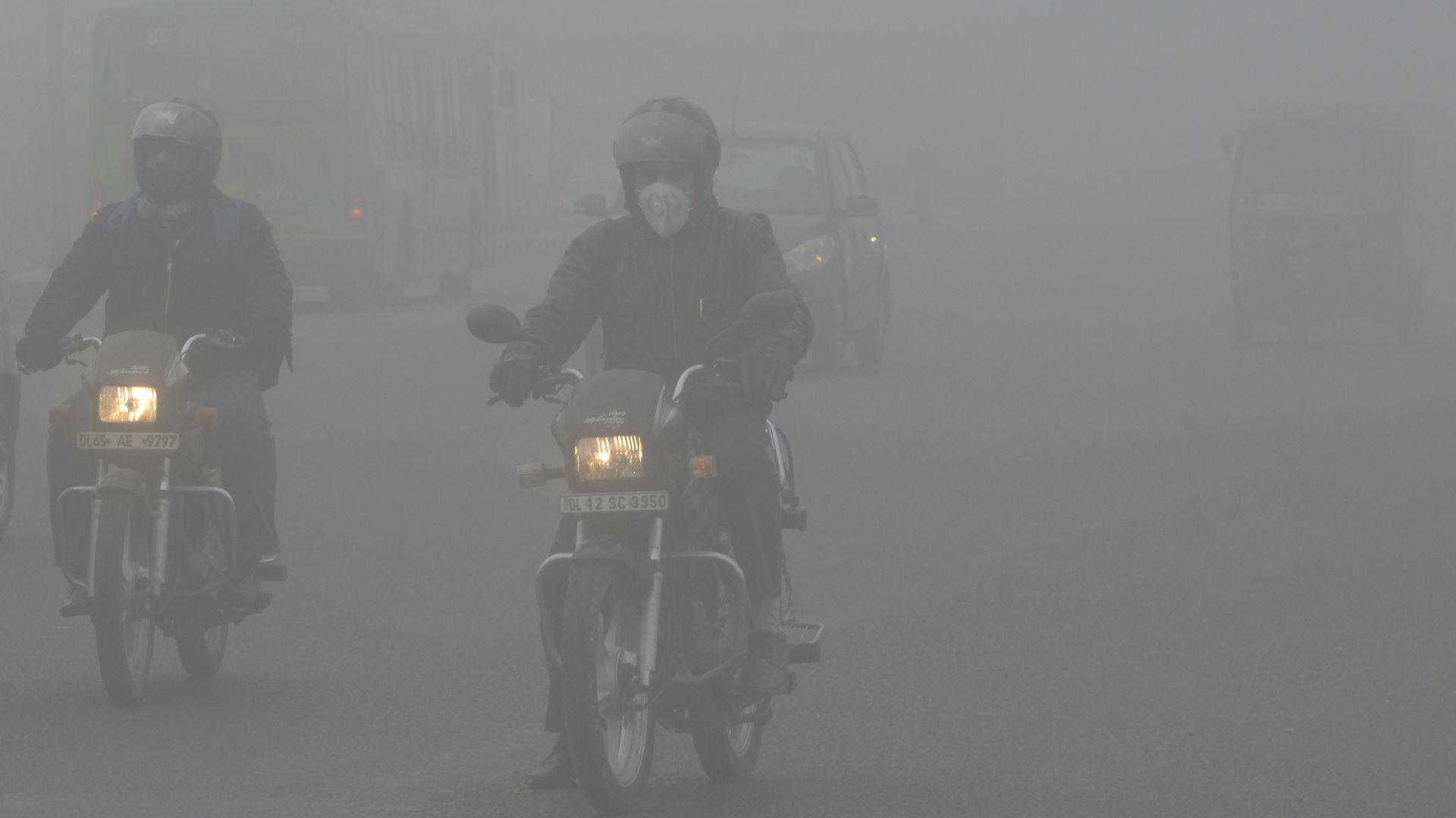 Smog in New Dehli