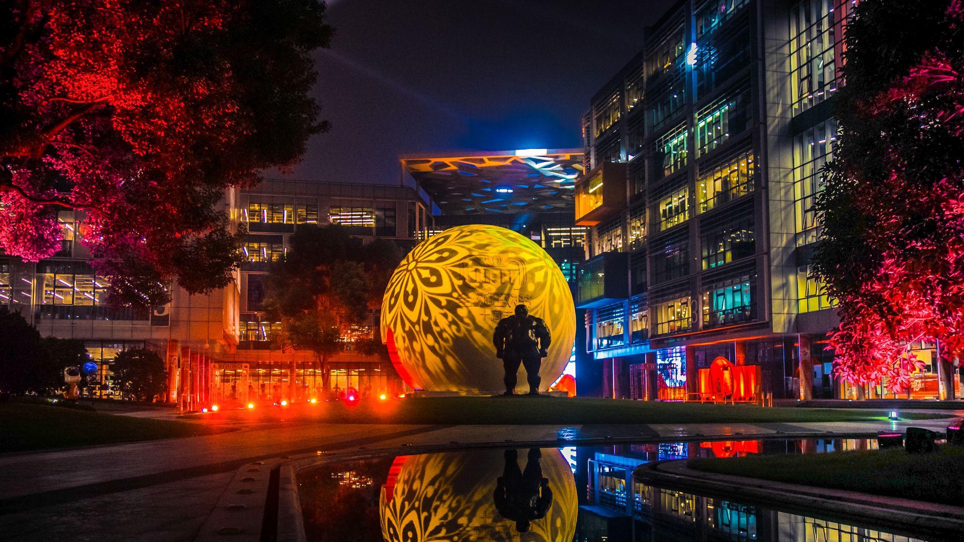 Alibaba's Singles Day festival