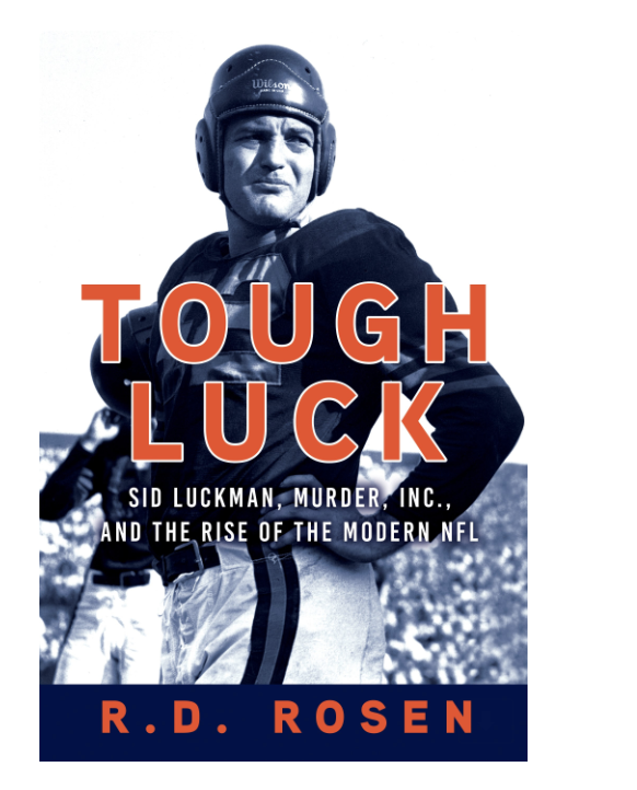 Sid Luckman book cover