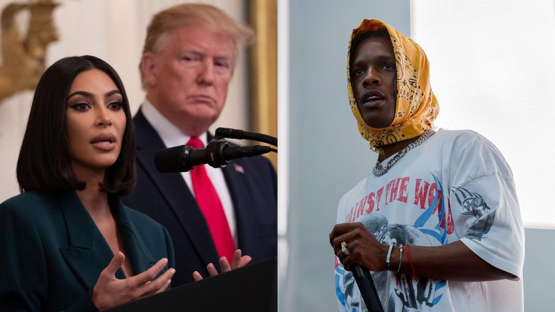 A$AP Rocky is in detention