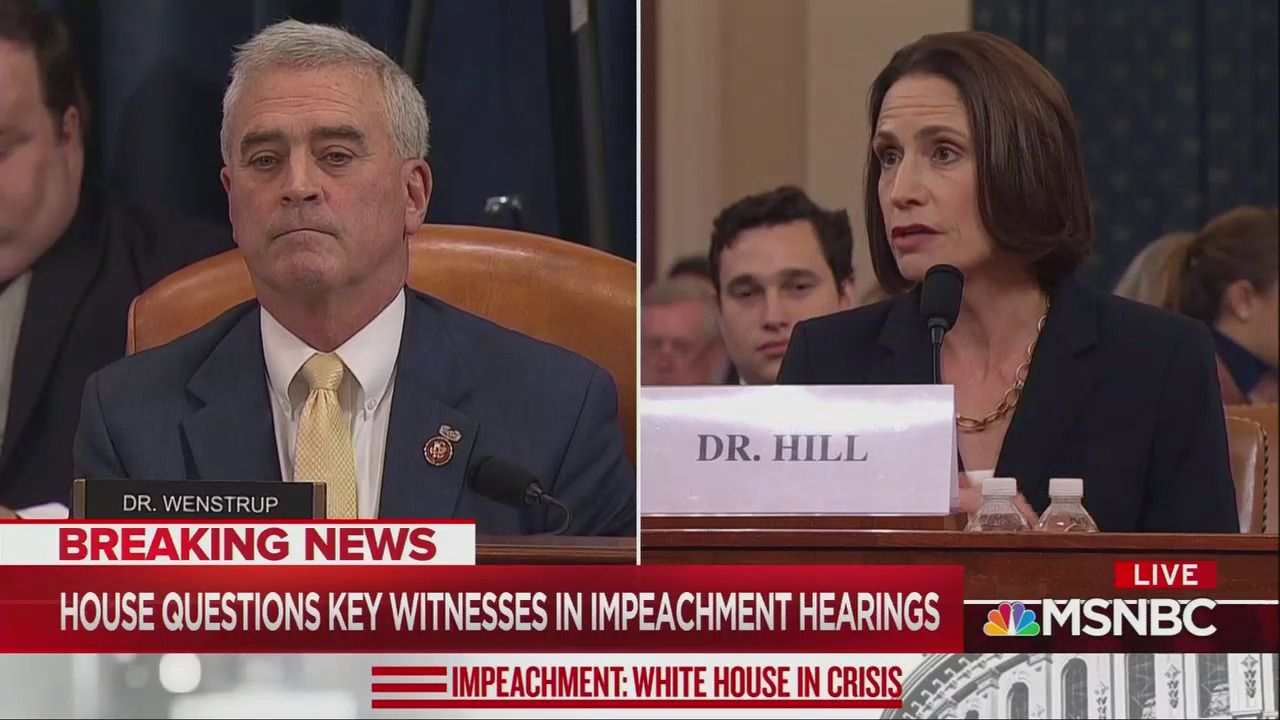 """""""Could I actually say something?"""": Fiona Hill fires back at House Republicans - Axios"""