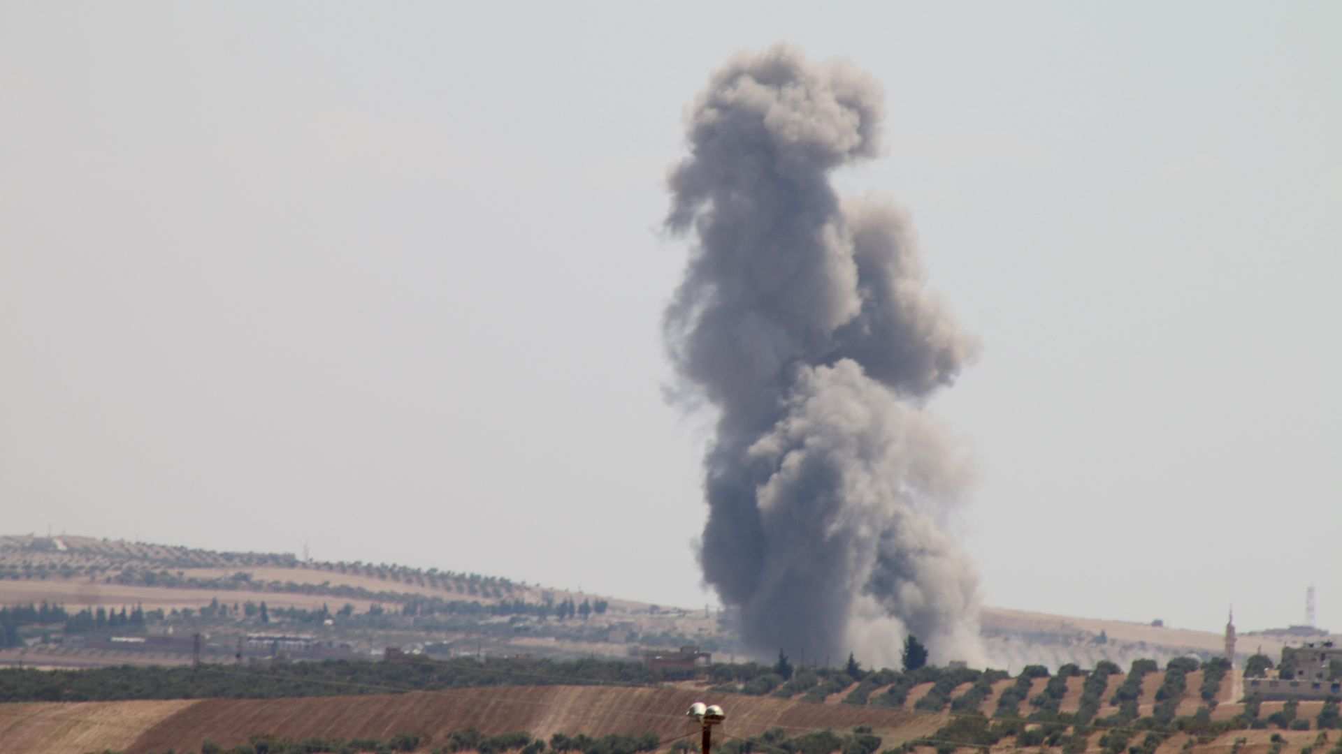 Airstrike picture.