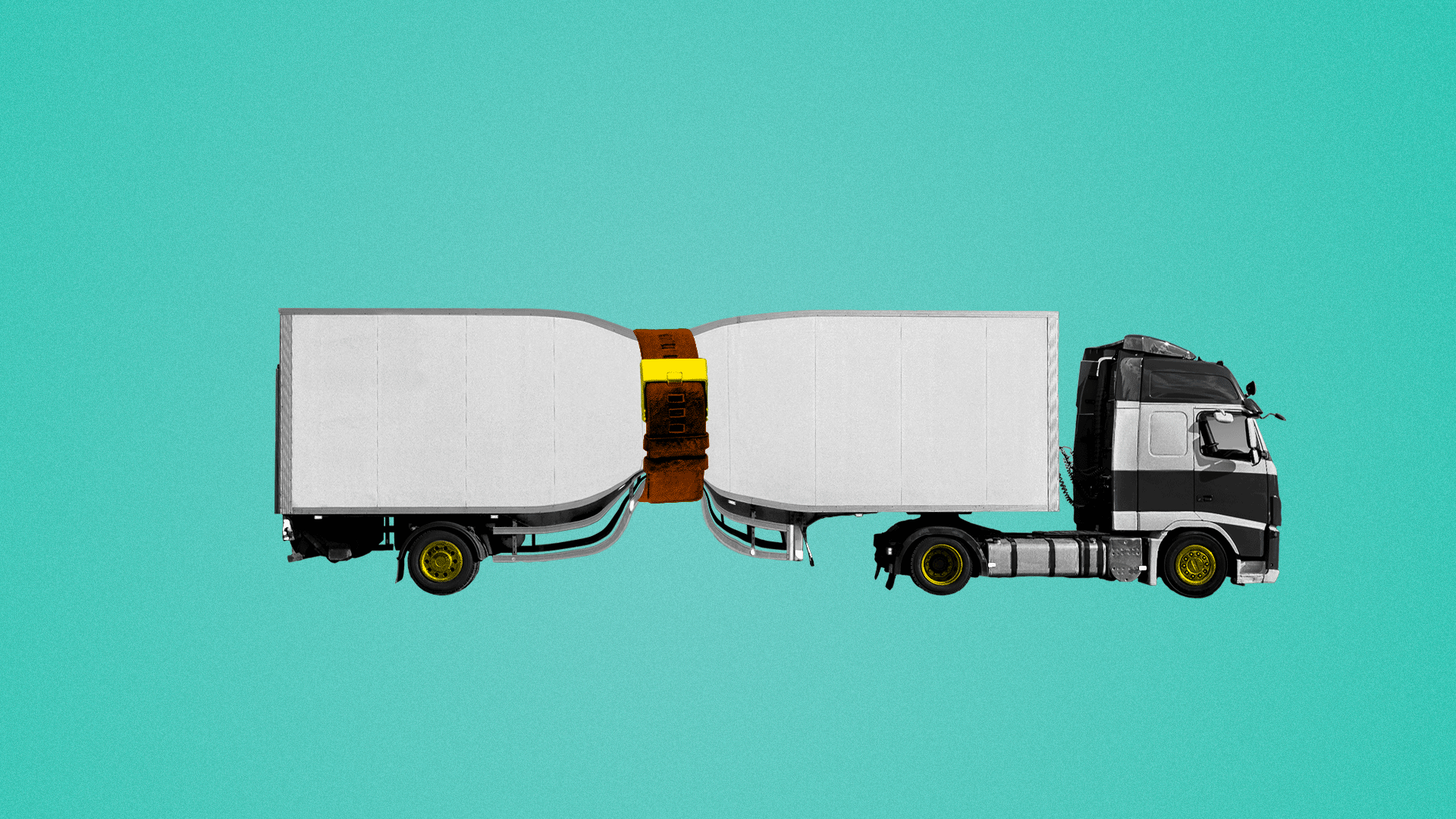 Illustration of a truck for story about pollution regulations