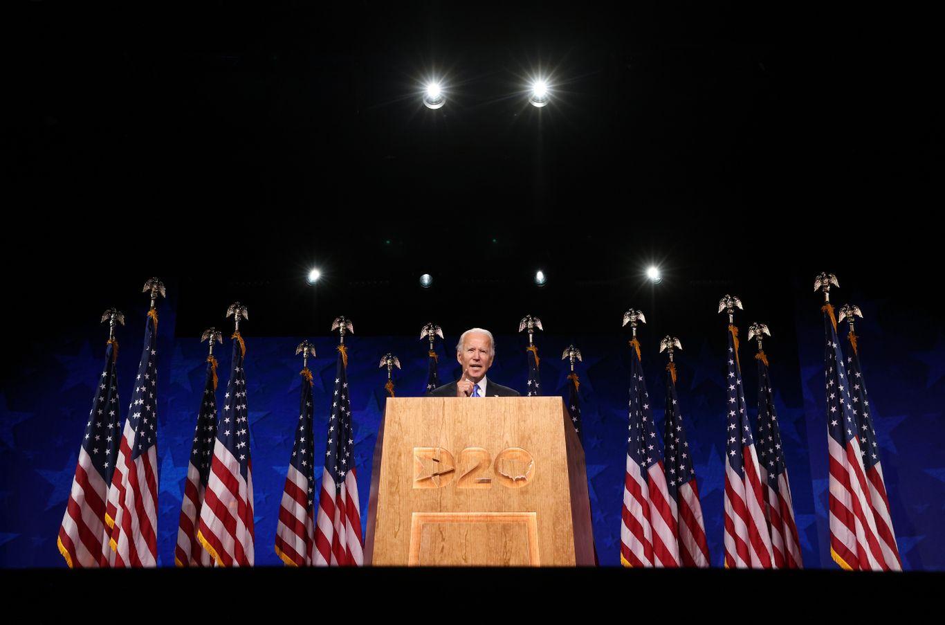 """Biden to say Trump has """"fomented"""" violence thumbnail"""