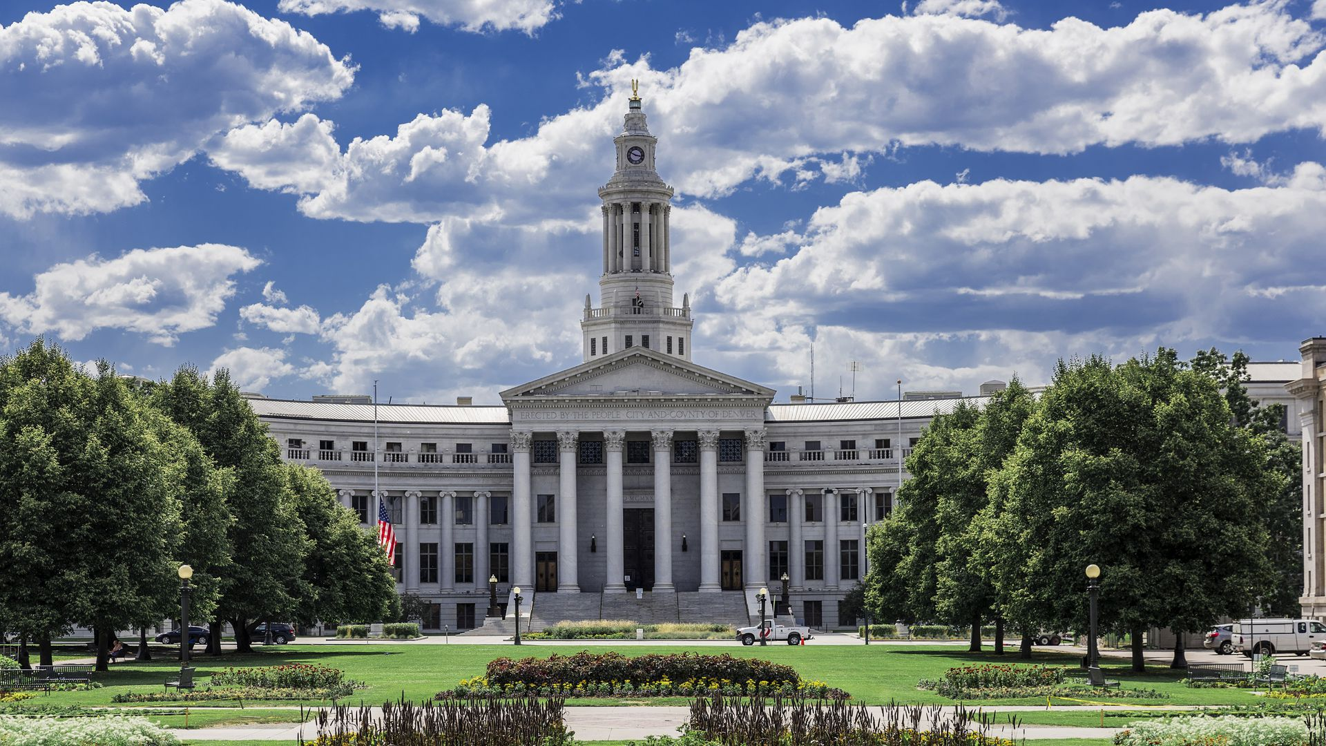 A photo of Denver City Hall