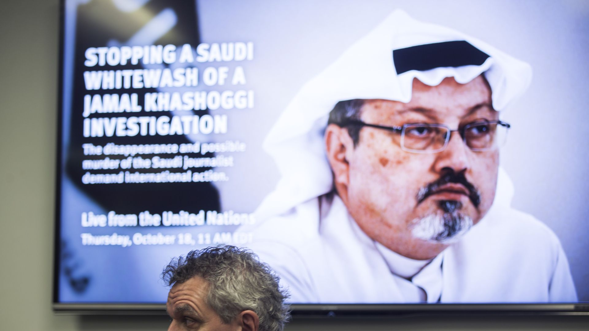 Khashoggi in a picture