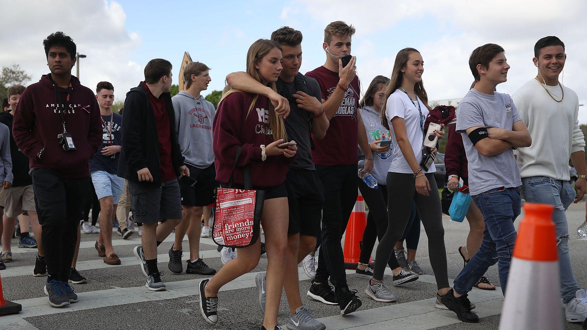 Parkland students