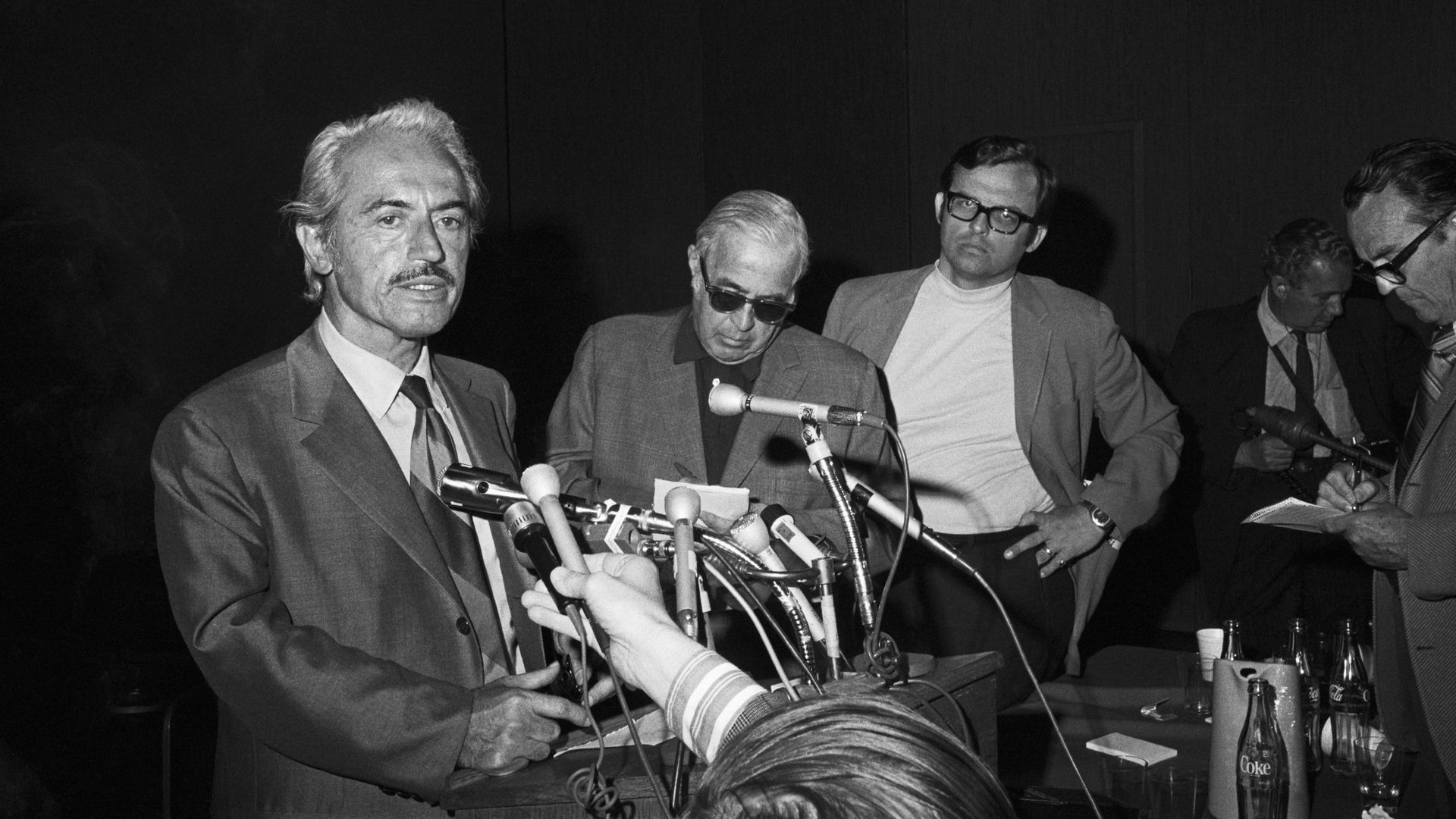 Marvin Miller, speaking in 1972