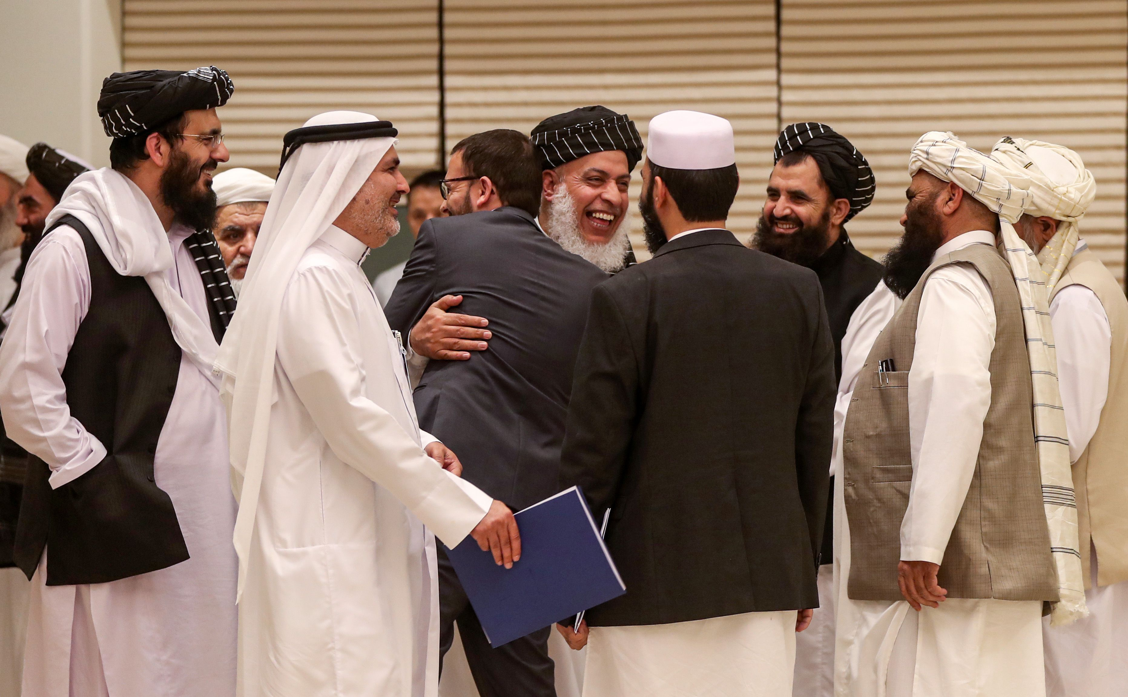 U.S. and Taliban announce first step in Afghanistan peace process - Axios