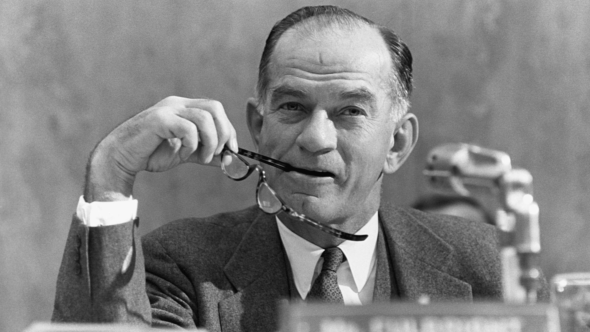 James William Fulbright was a democratic U.S. Senator from 1945 to 1974.