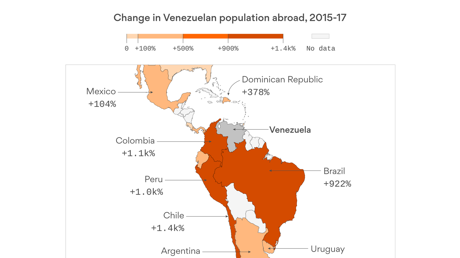 The new global migrant crisis is in the Americas - Axios Only Labeled Map Of Venezuela on labeled map of pennsylvania, labeled map of united kingdom, labeled map of the u.s, labeled map of tobago, labeled map of nigeria, labeled map of the british isles, labeled map of bodies of water, labeled map of fiji islands, labeled map of switzerland, labeled map of trinidad, labeled map of northern europe, labeled map of the caribbean islands, labeled map of iran, labeled map of new caledonia, labeled map of amazon river, labeled map of indochina, labeled map of western united states, labeled map of syria, labeled map of ussr, labeled map of iraq,