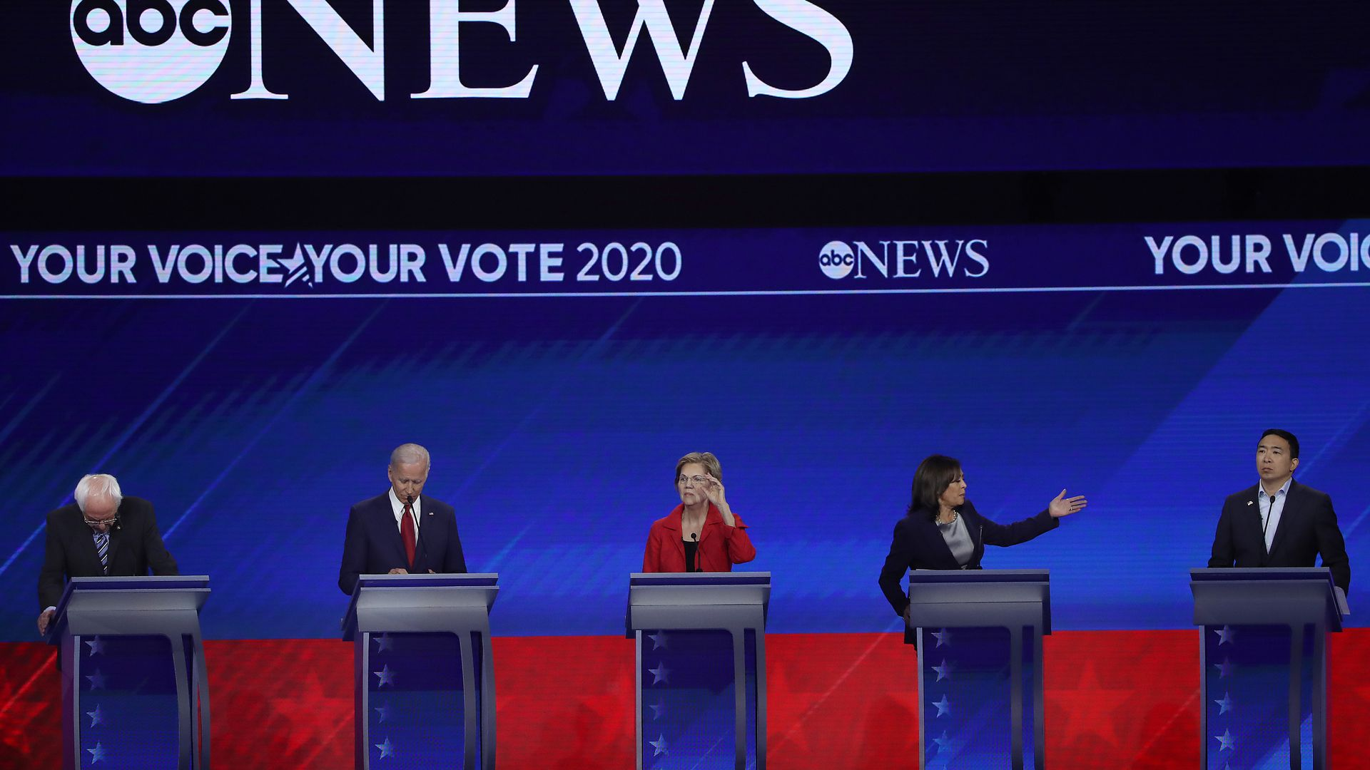 DNC raises qualifying criteria for November debates