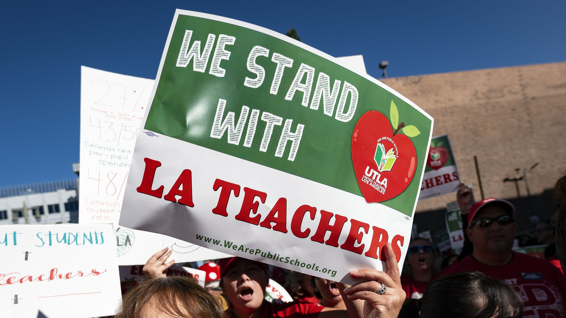 LA Teacher strike