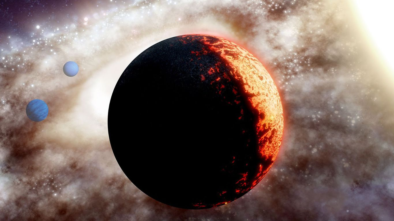"Scientists discover 10 billion-year-old ""super-Earth"" planet"