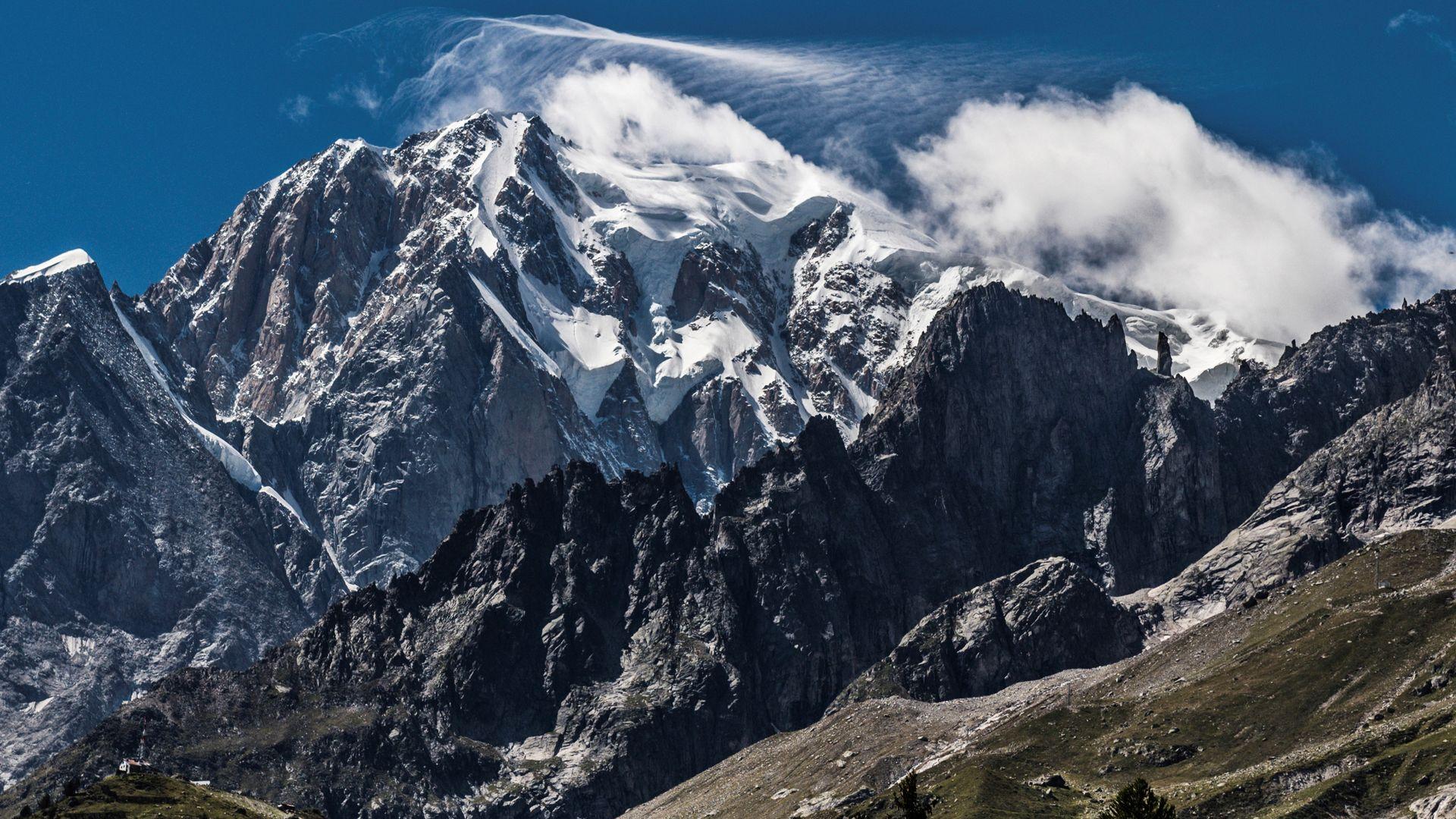 Mont Blanc Gletscher