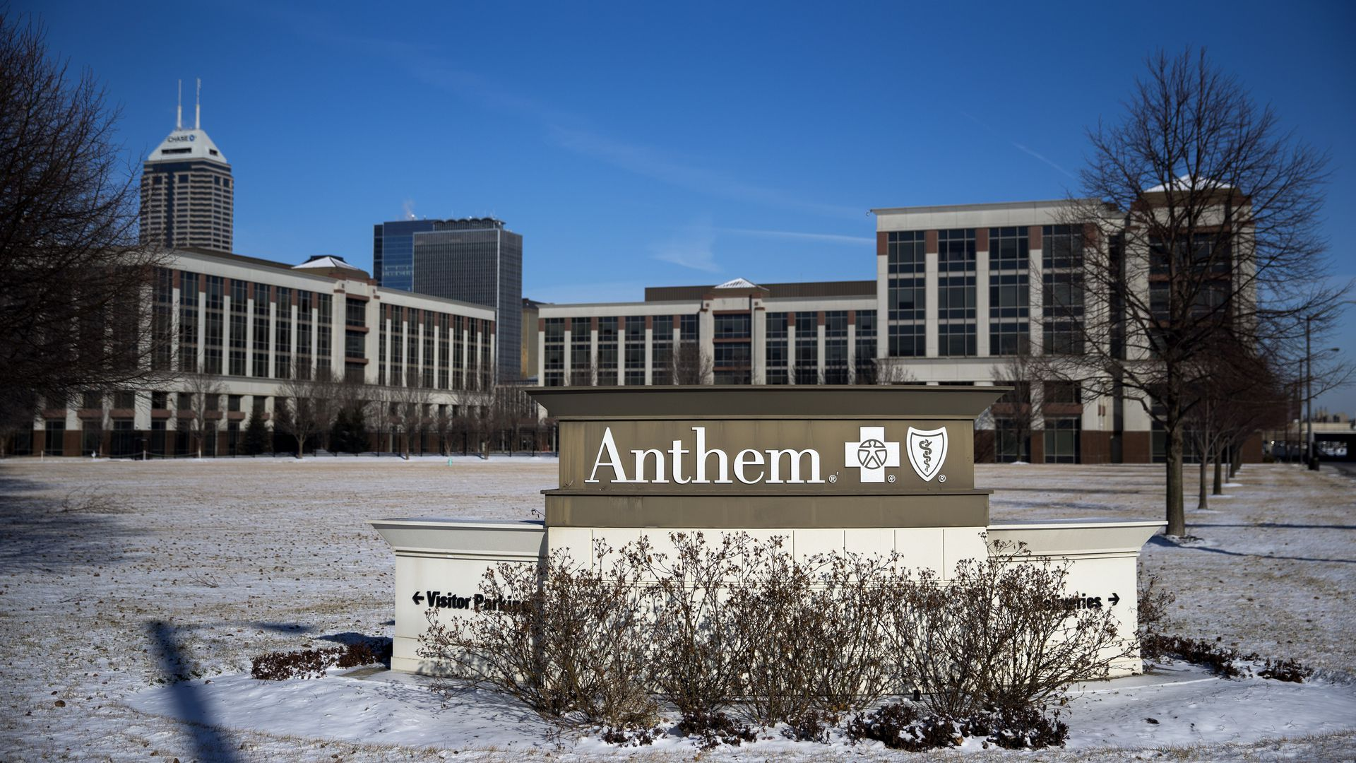 Anthem's headquarters in Indianapolis