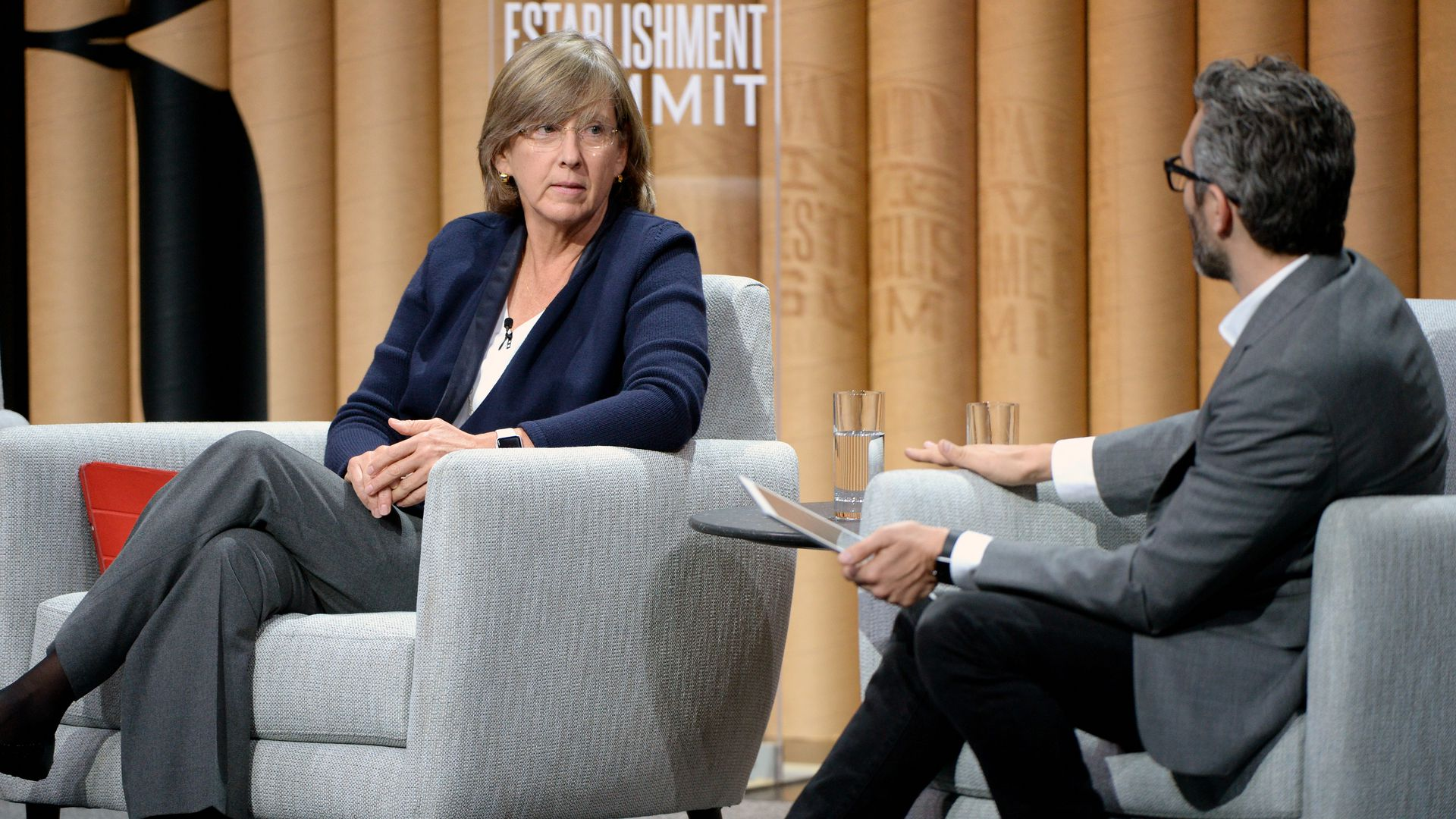 Mary Meeker at a conference.