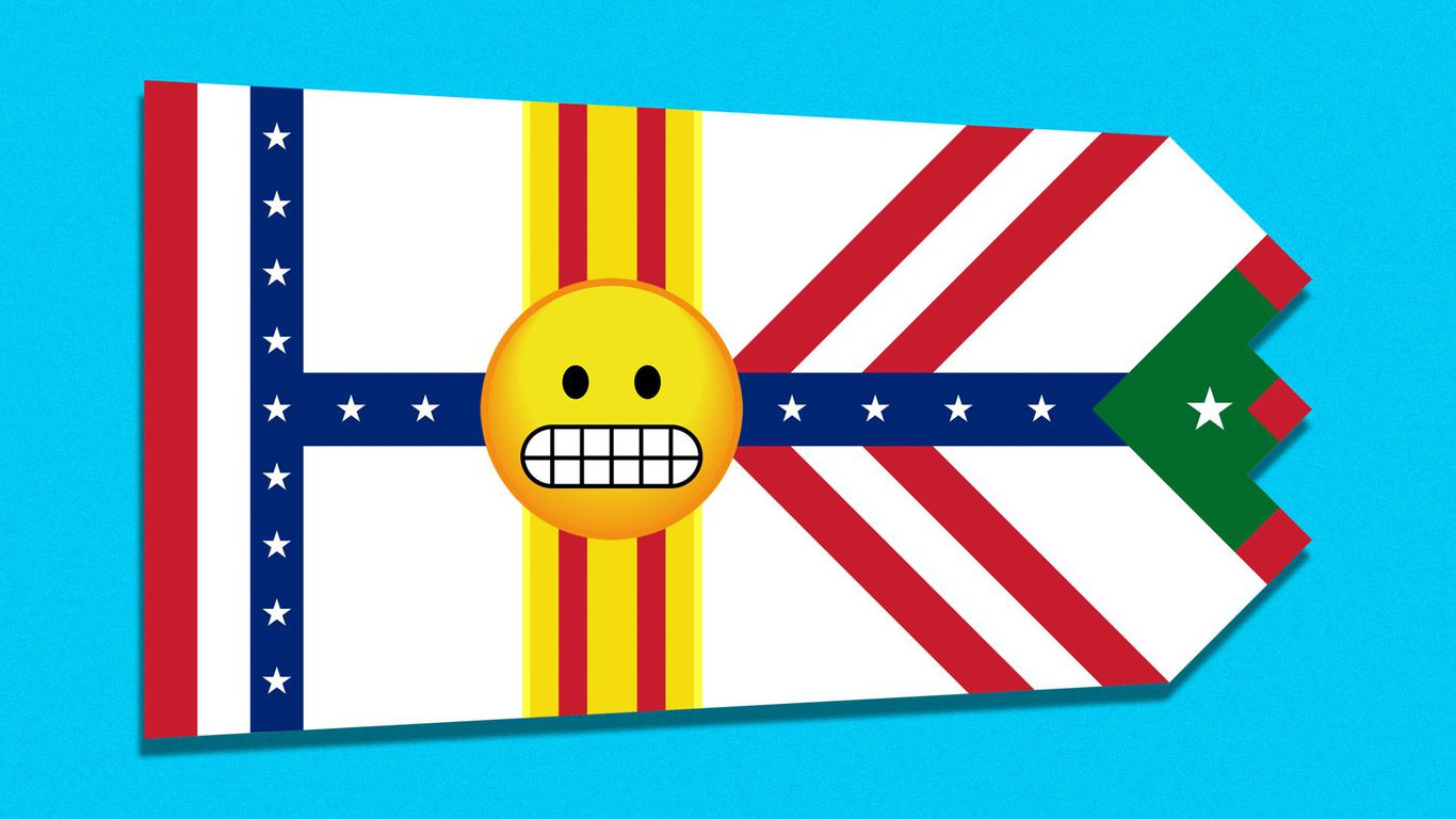 Tampa's awesomely hideous flag is getting a makeover