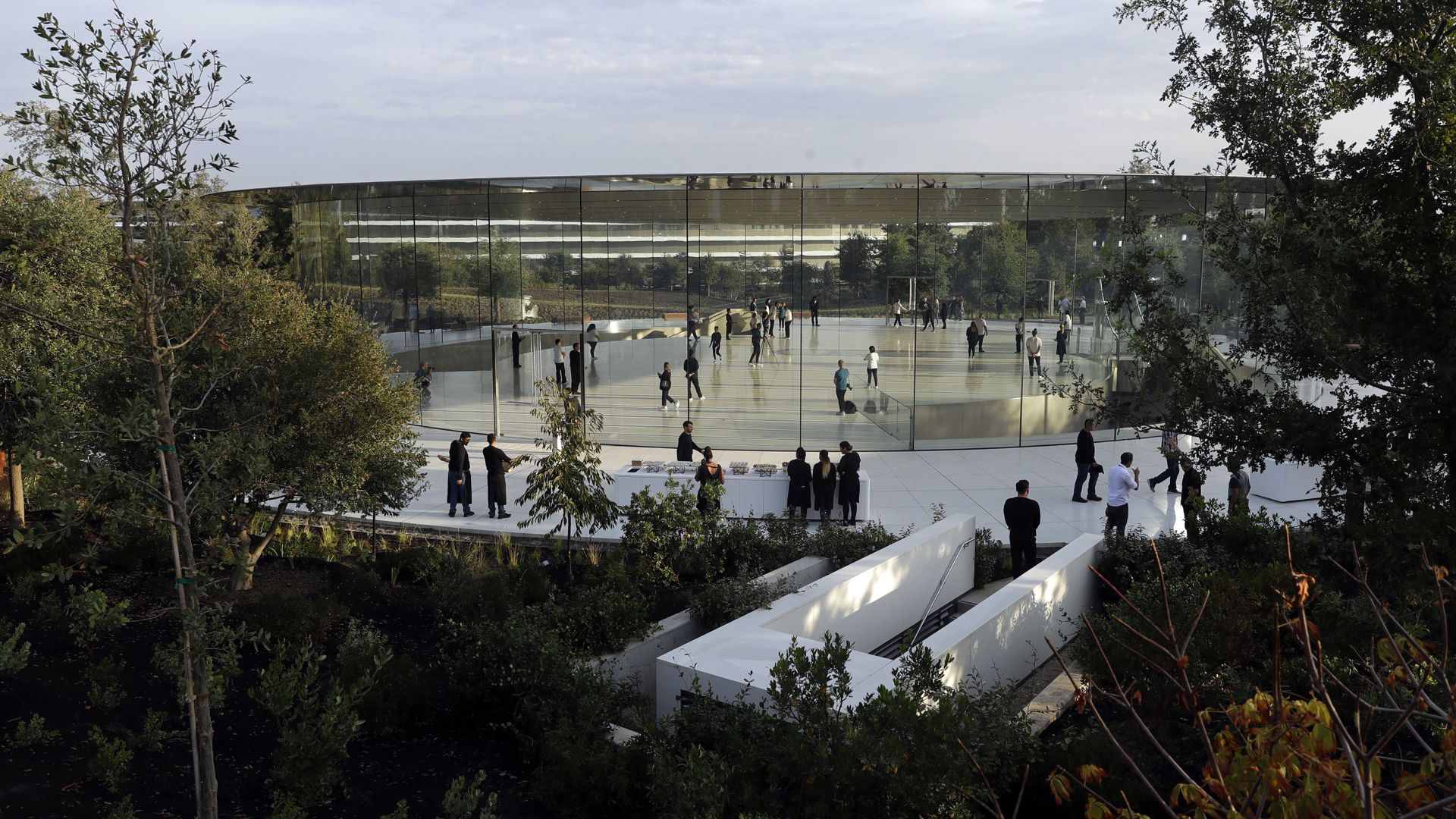 The new Apple campus
