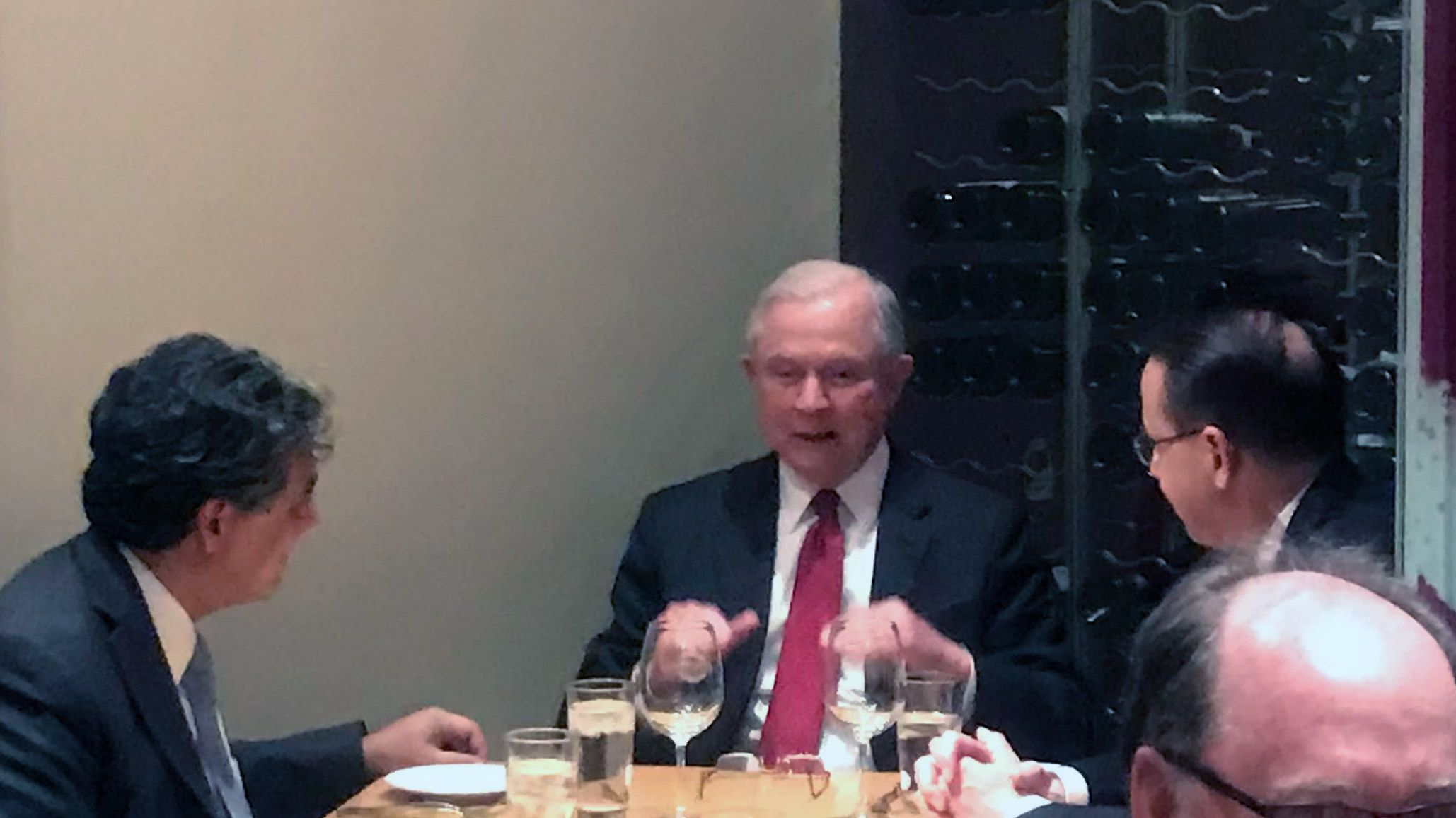 Sessions at dinner