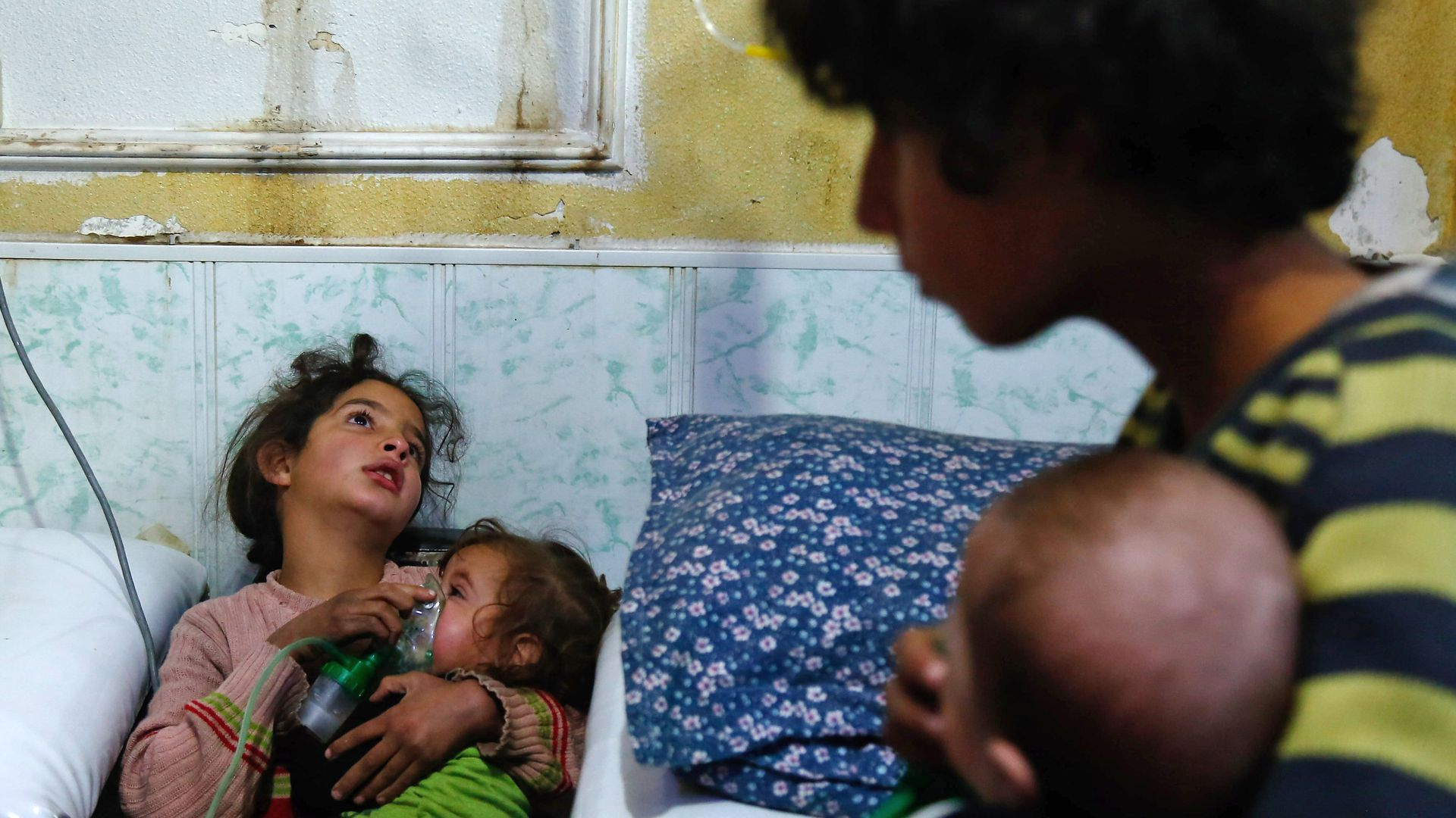 four child victims of reported gas attack