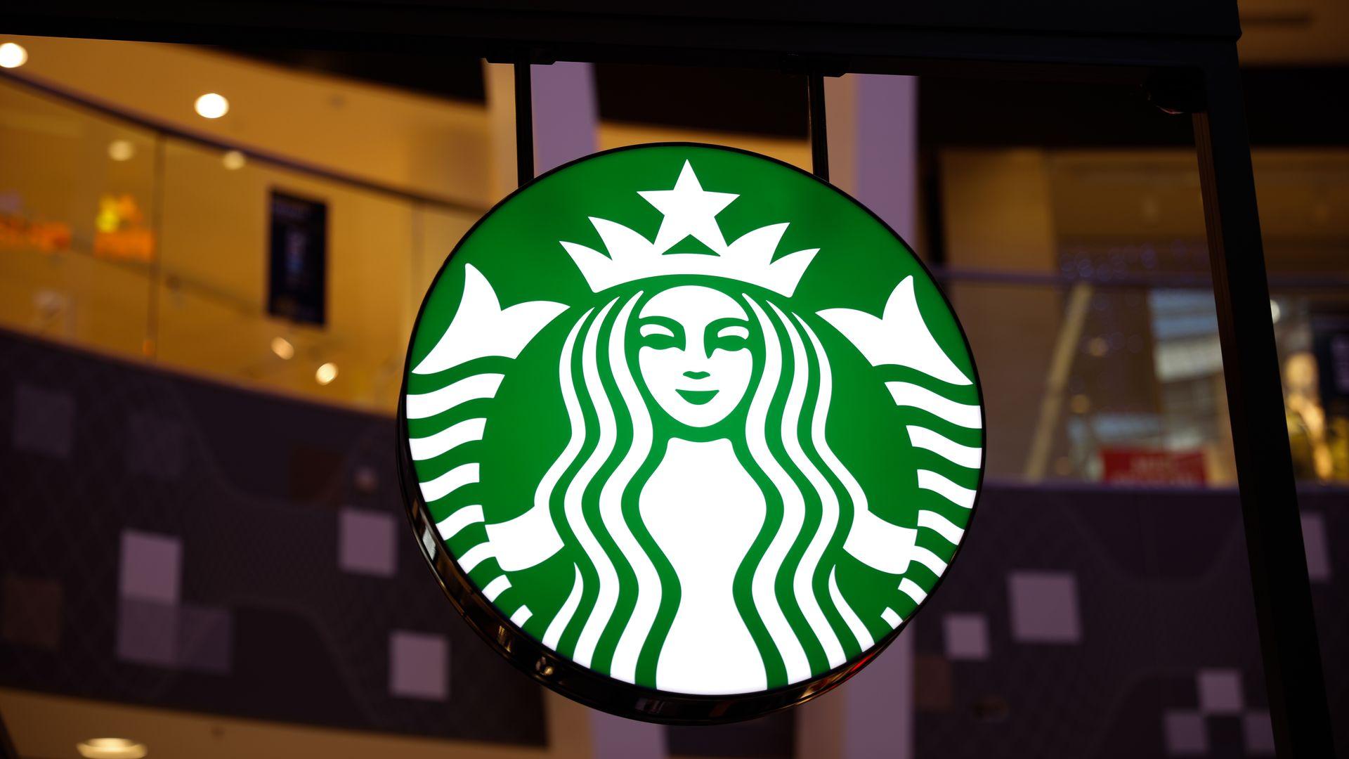 The Starbucks logo