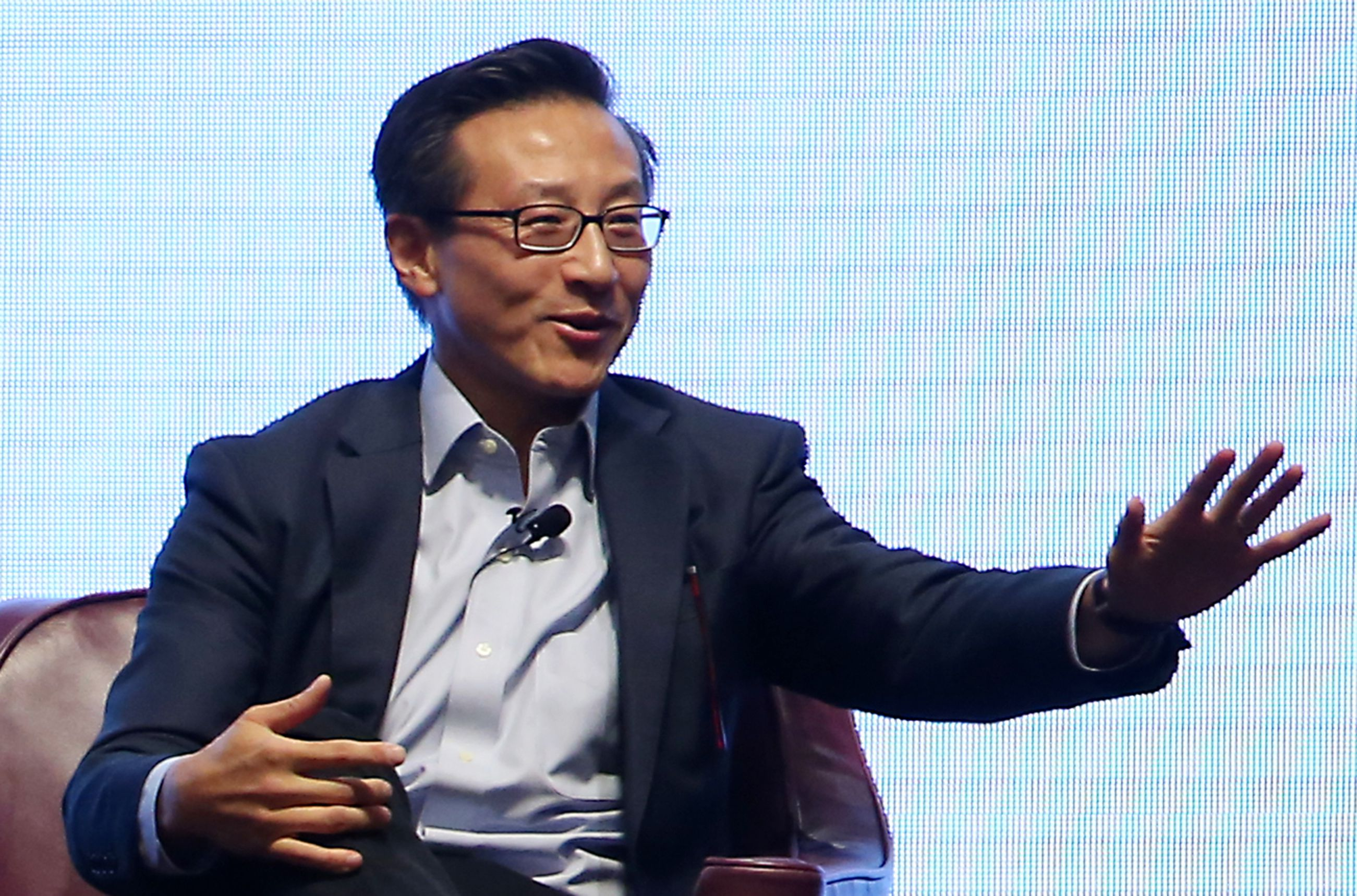 A photo of Joseph Tsai, Executive Vice Chairman, Alibaba Group